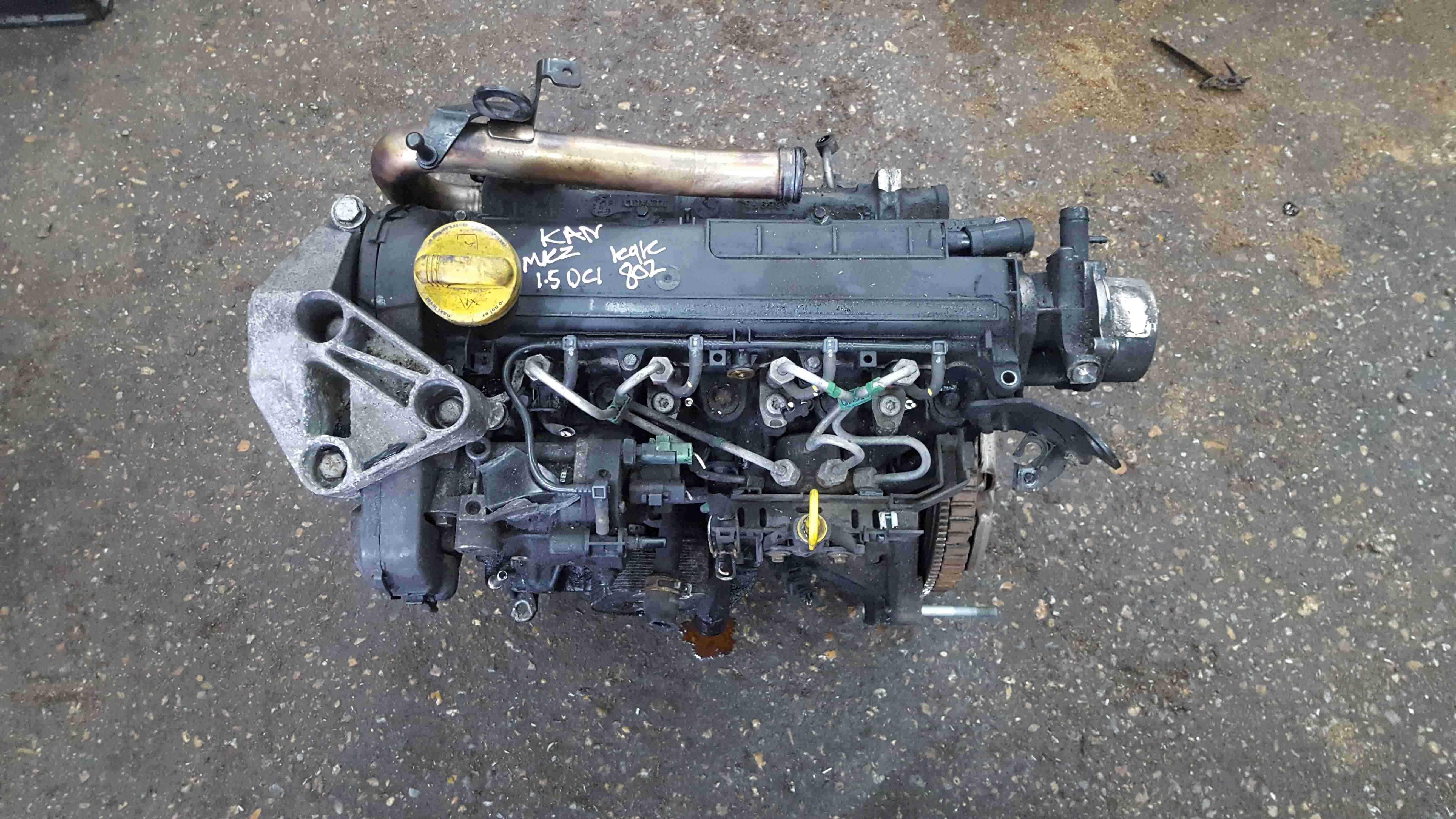 Renault Kangoo 2007-2017 1.5 DCi Engine K9K 3 Months Warranty 802