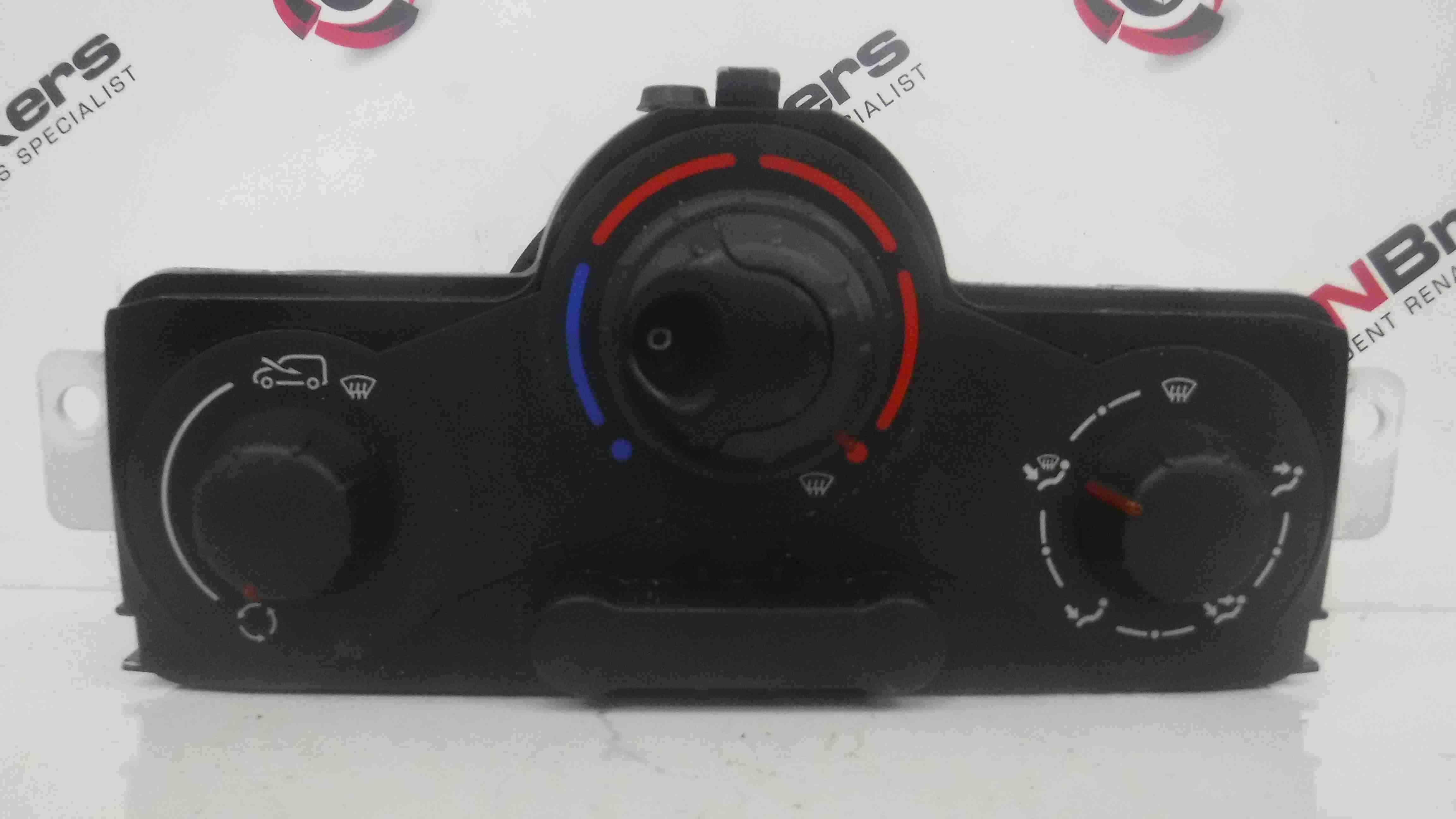 Renault Kangoo 2007-2017 Heater Controls Switches