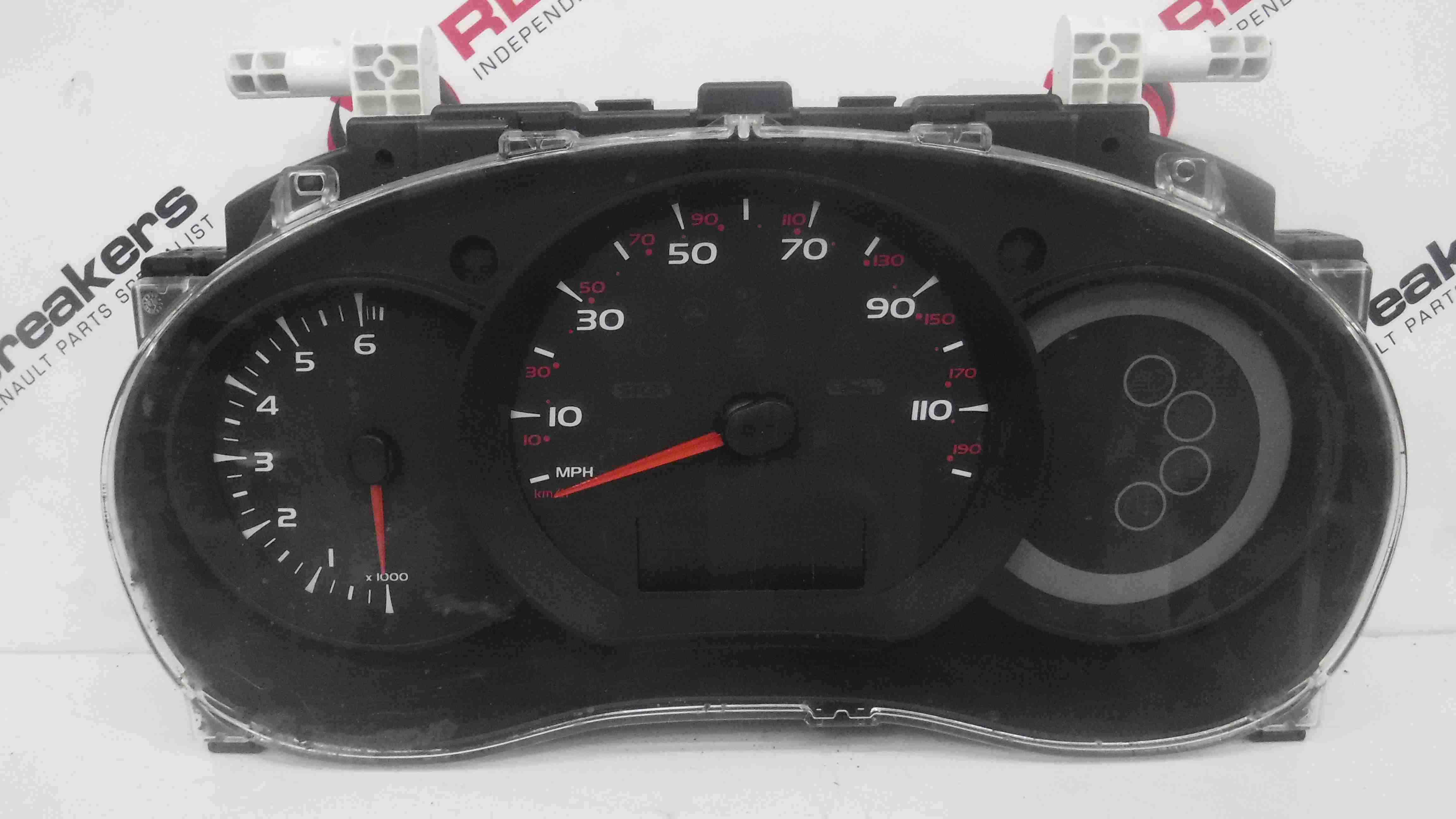Renault Kangoo 2007-2017 Instrument Panel Dials Gauges Clocks 8200796011