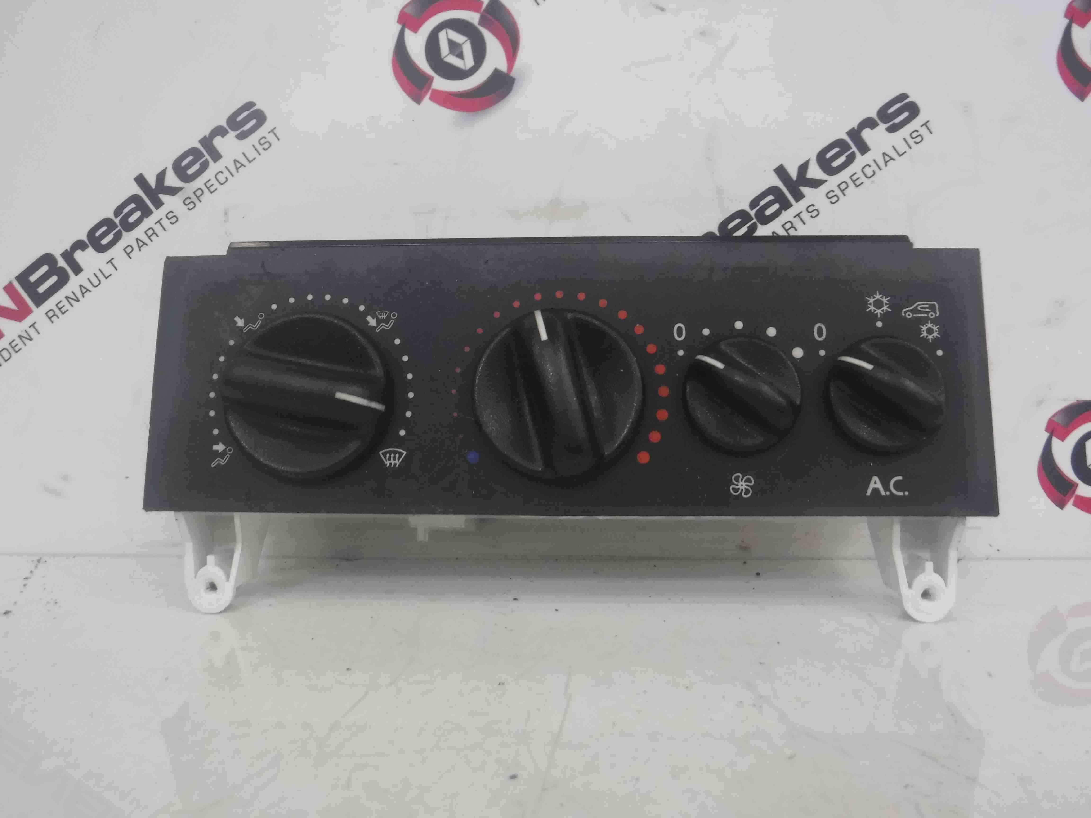 Renault Kangoo MPV 1993-2003 Heater Controls Panel Switches Aircon 11111
