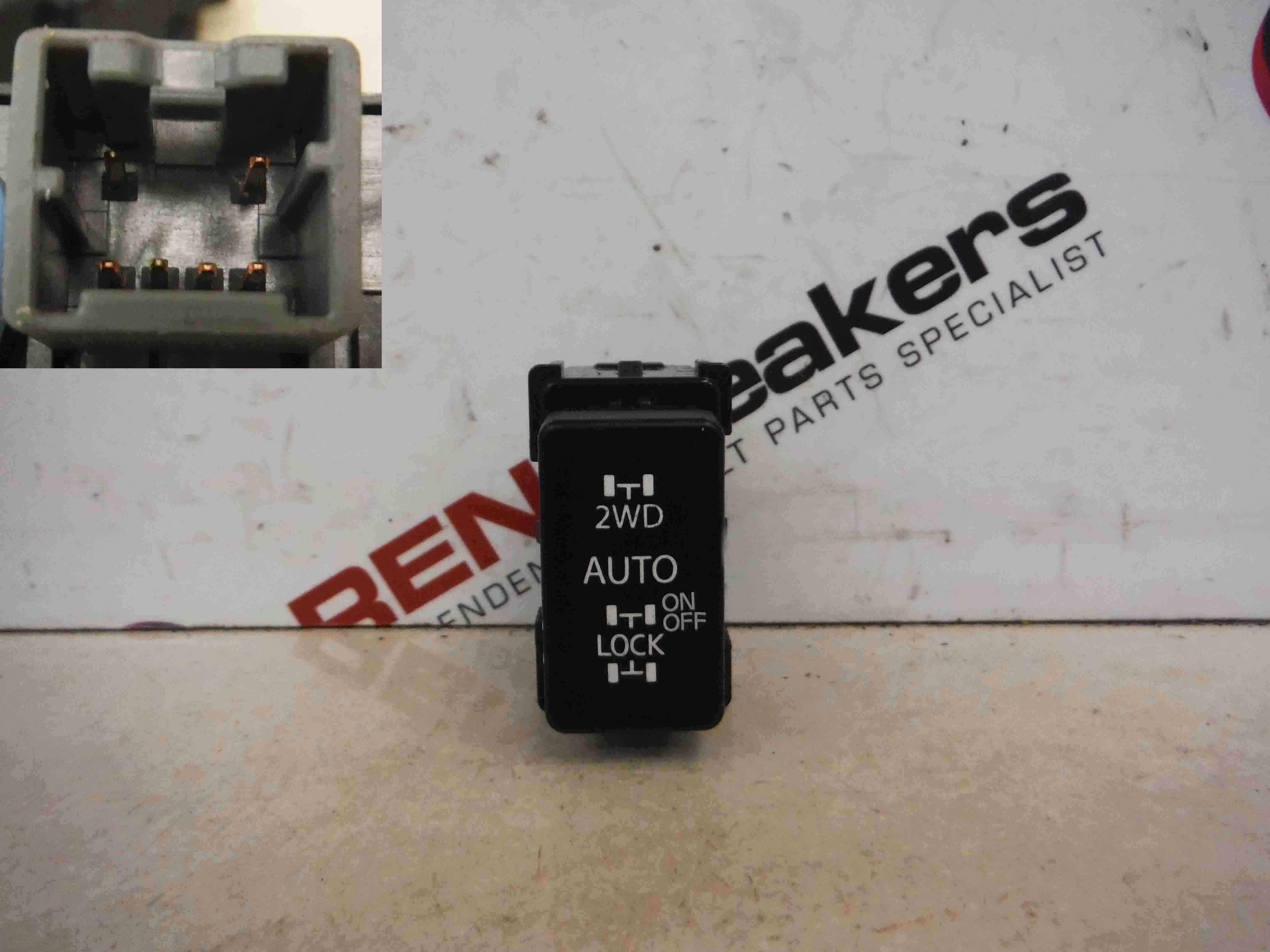 Renault Koleos 2008-2010 4WD 2WD Rear Differential Lock Gearbox 4 Wheel Drive