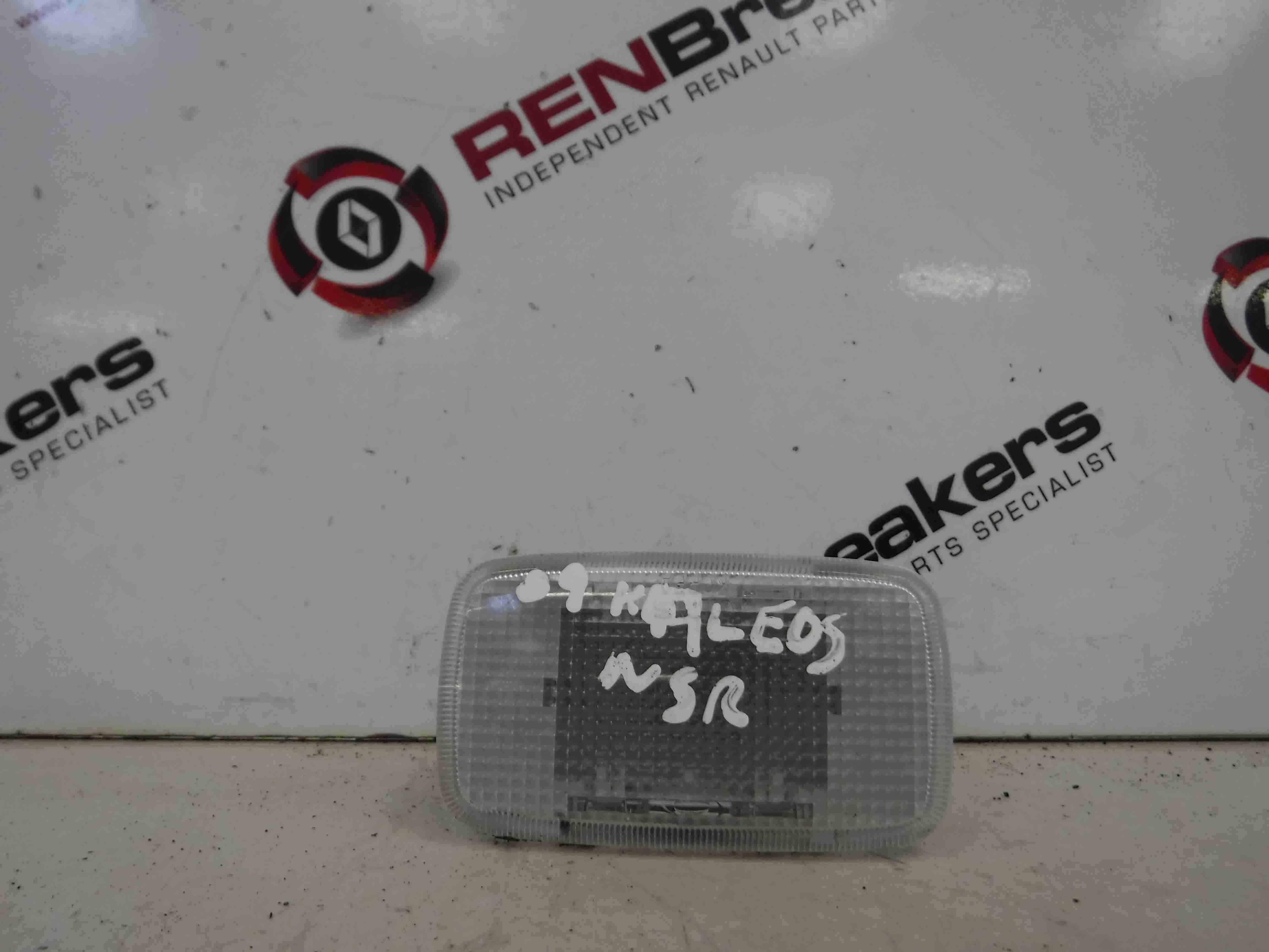 Renault Koleos 2008-2010 Passenger NSR Rear Door Light