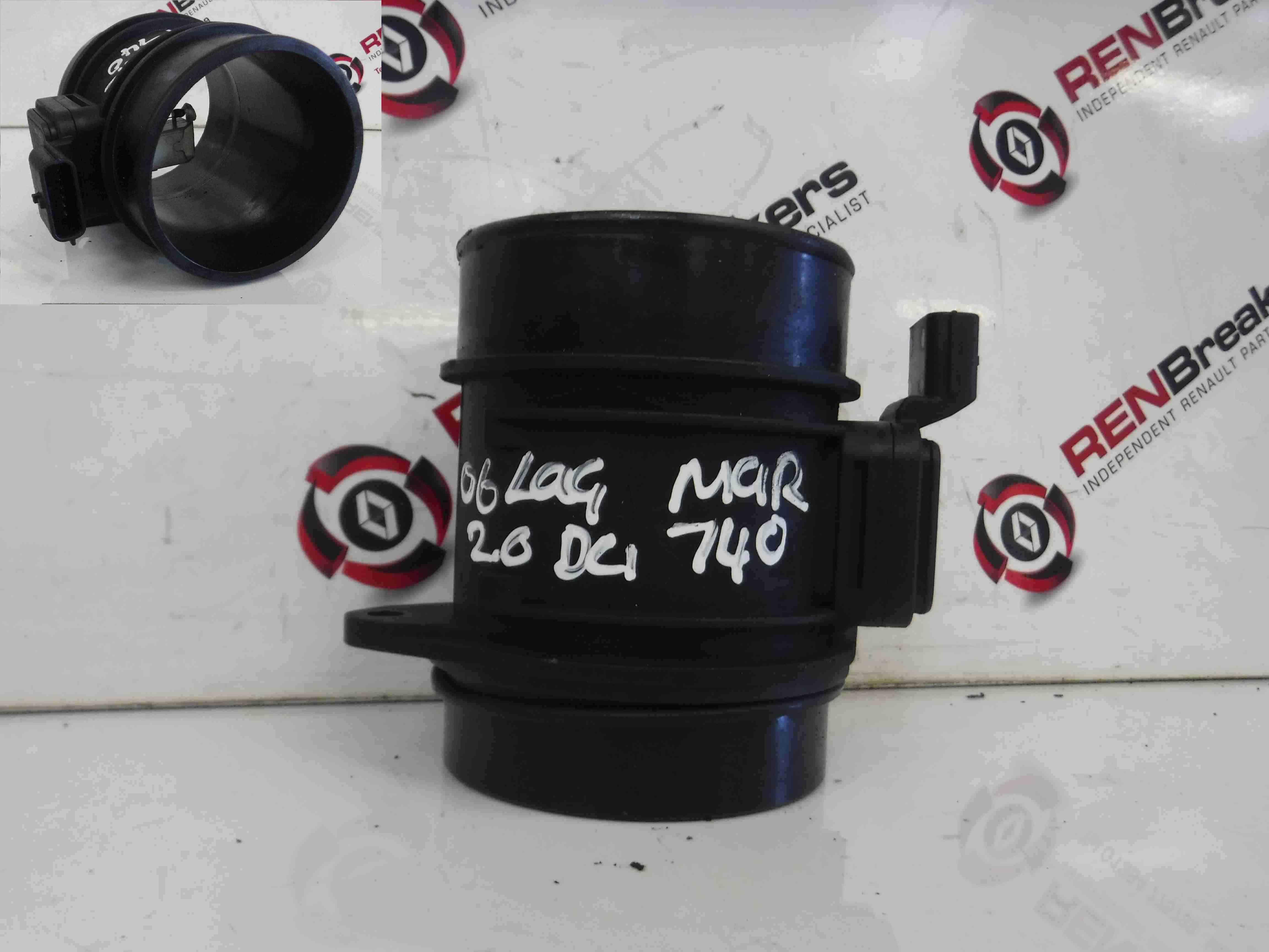 Renault Laguna + Scenic 2005-2012 2.0 dCi Mass Air Flow Meter Sensor 8200280065