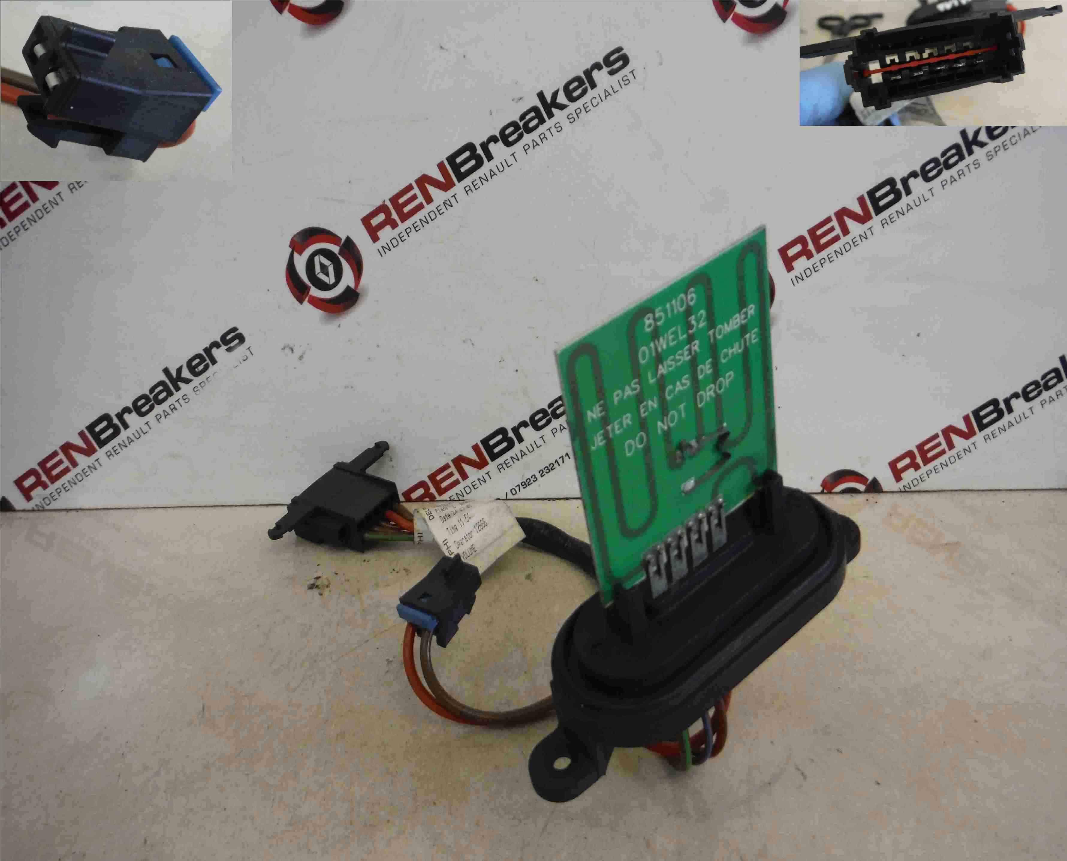 Renault Laguna 2001-2005 Heater Blower Motor Resistor