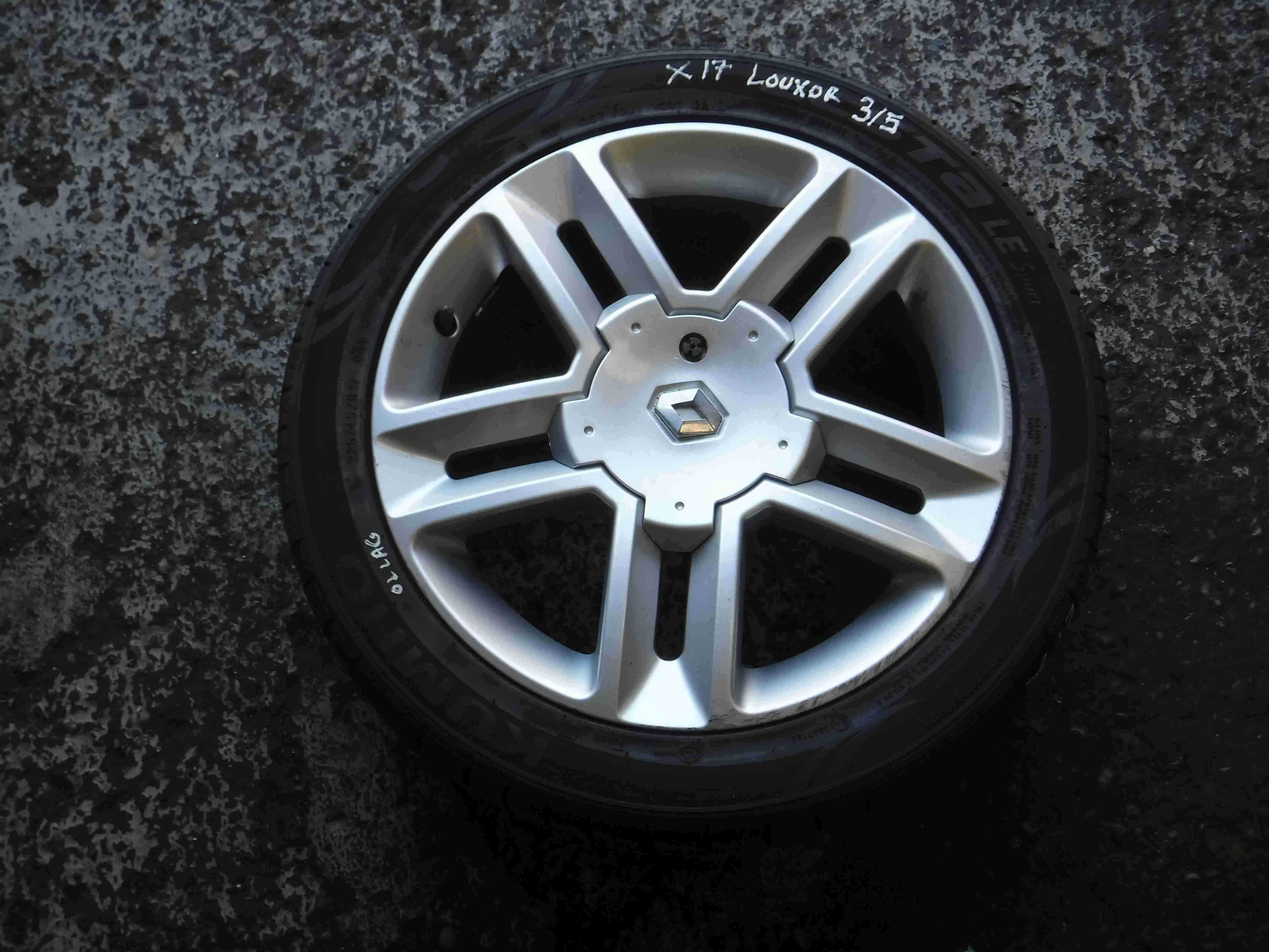 Renault Laguna 2001-2005 Louxor Alloy Wheel 16inch 3/5