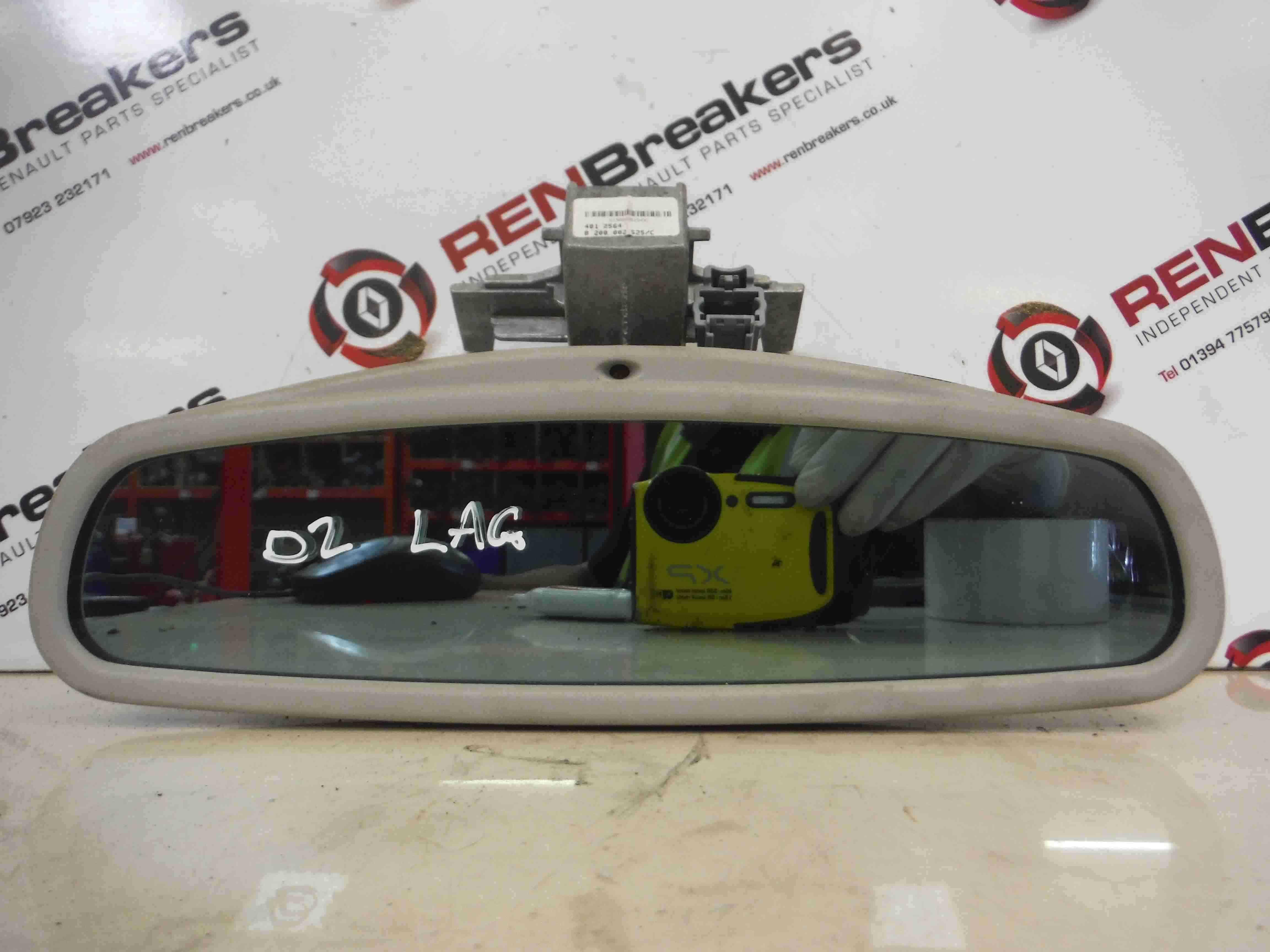 Renault Laguna 2001-2005 Rear View Mirror Autodimming