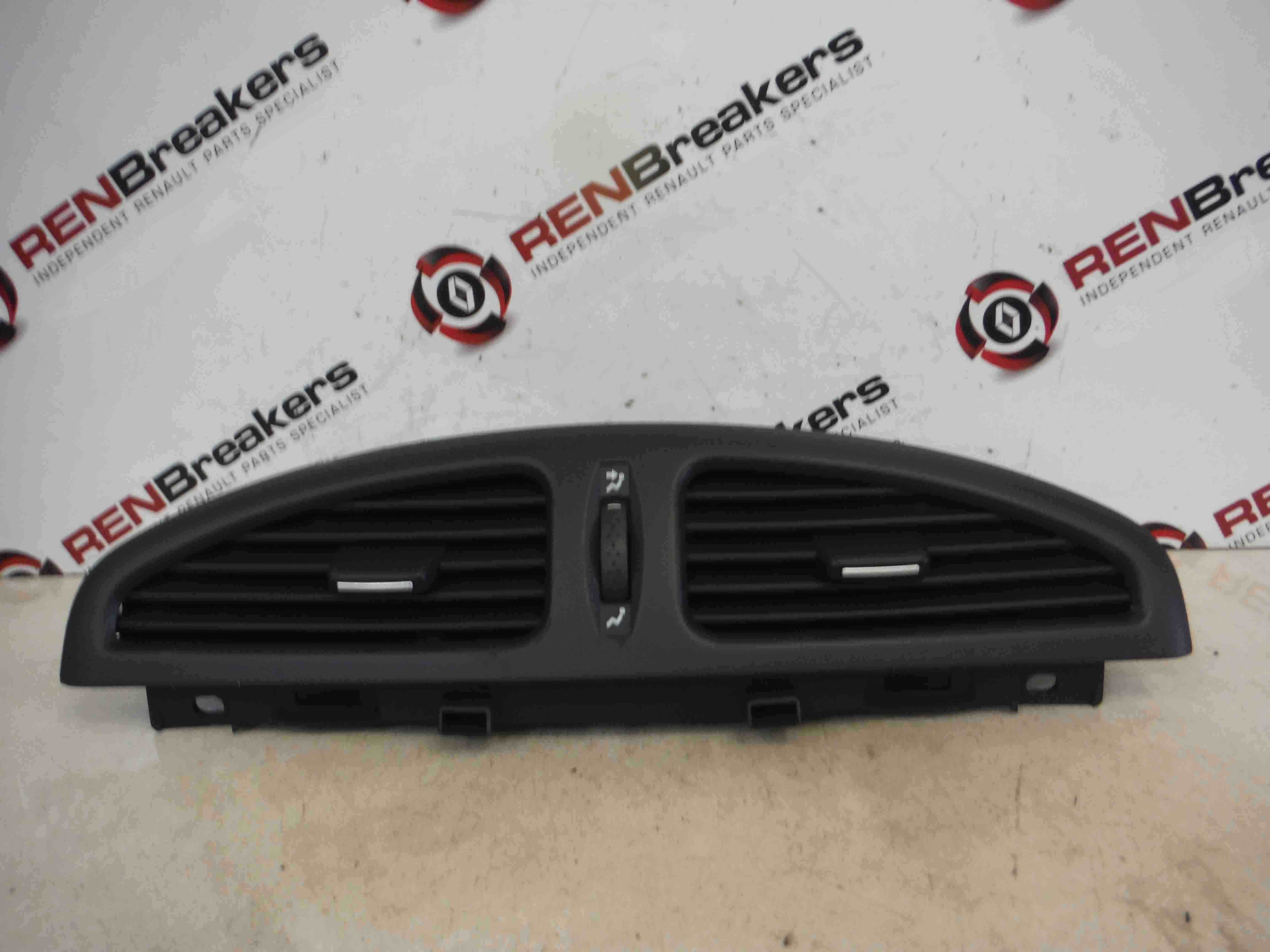 Renault Laguna 2005-2007 Dashboard Centre Heater Vents Ducts Air