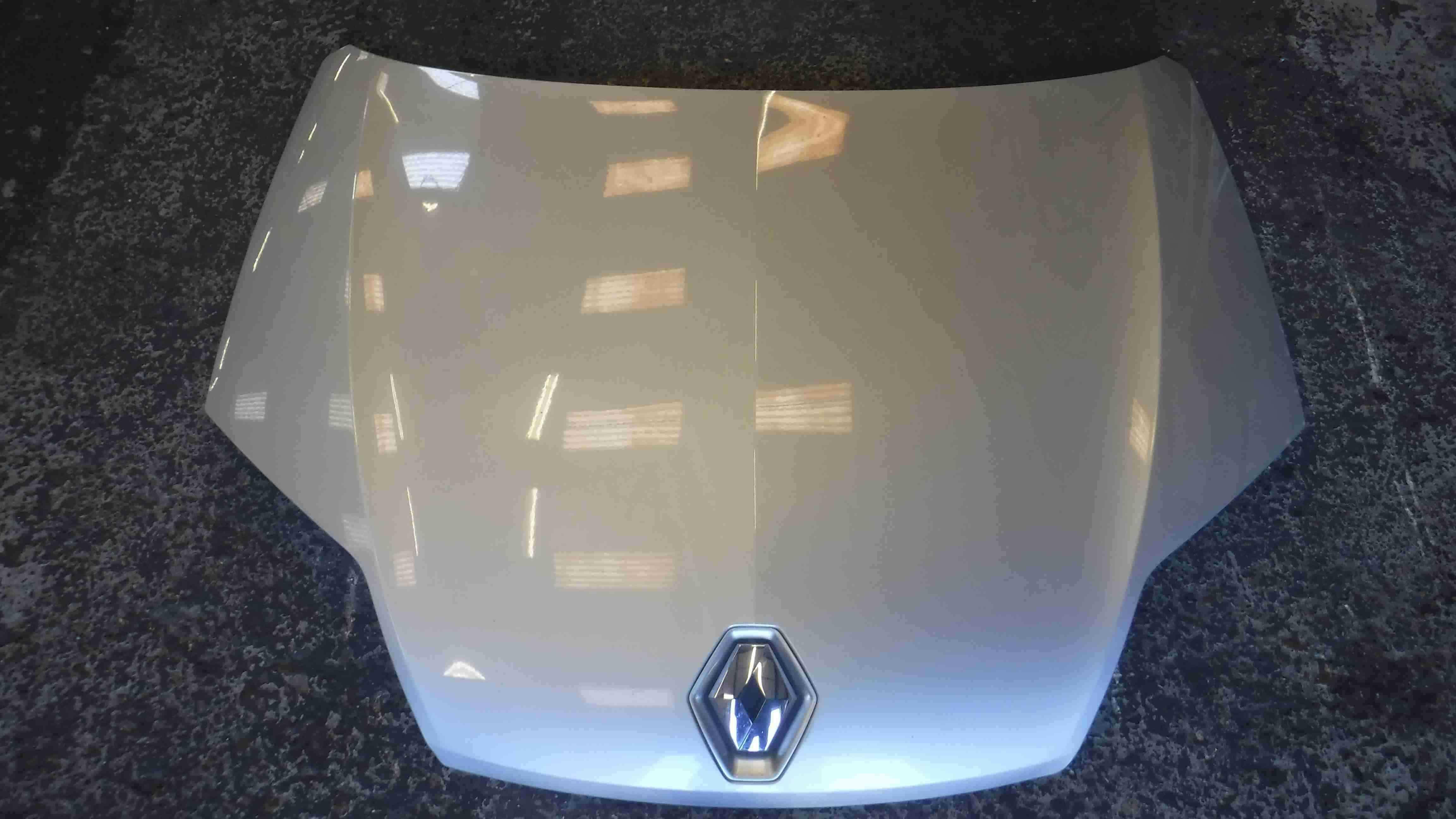 Renault Laguna 2007-2012 Front Bonnet Silver TED69