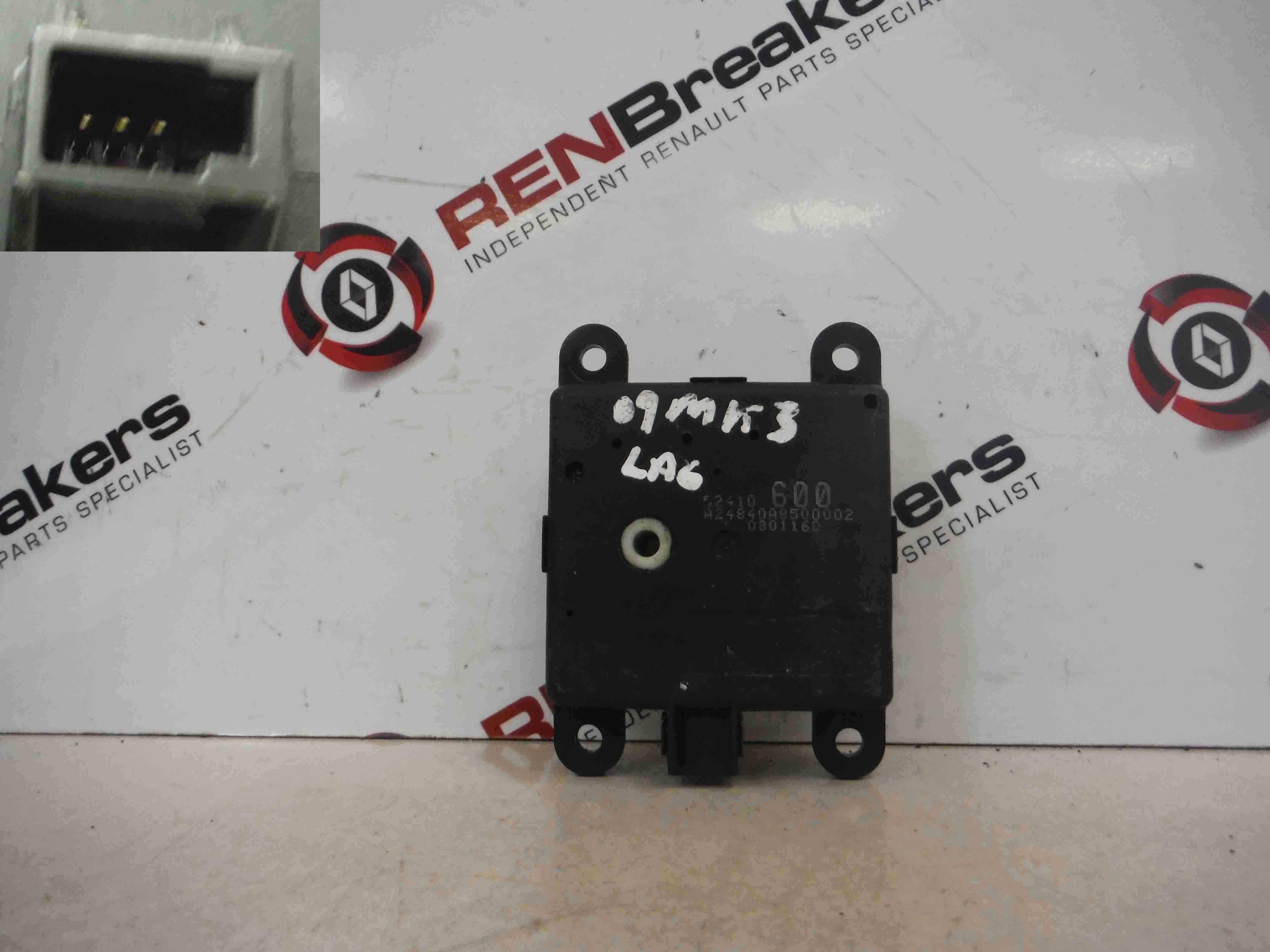 Renault Laguna 2007-2012 Heater Control Box Actuator Motor 52410600