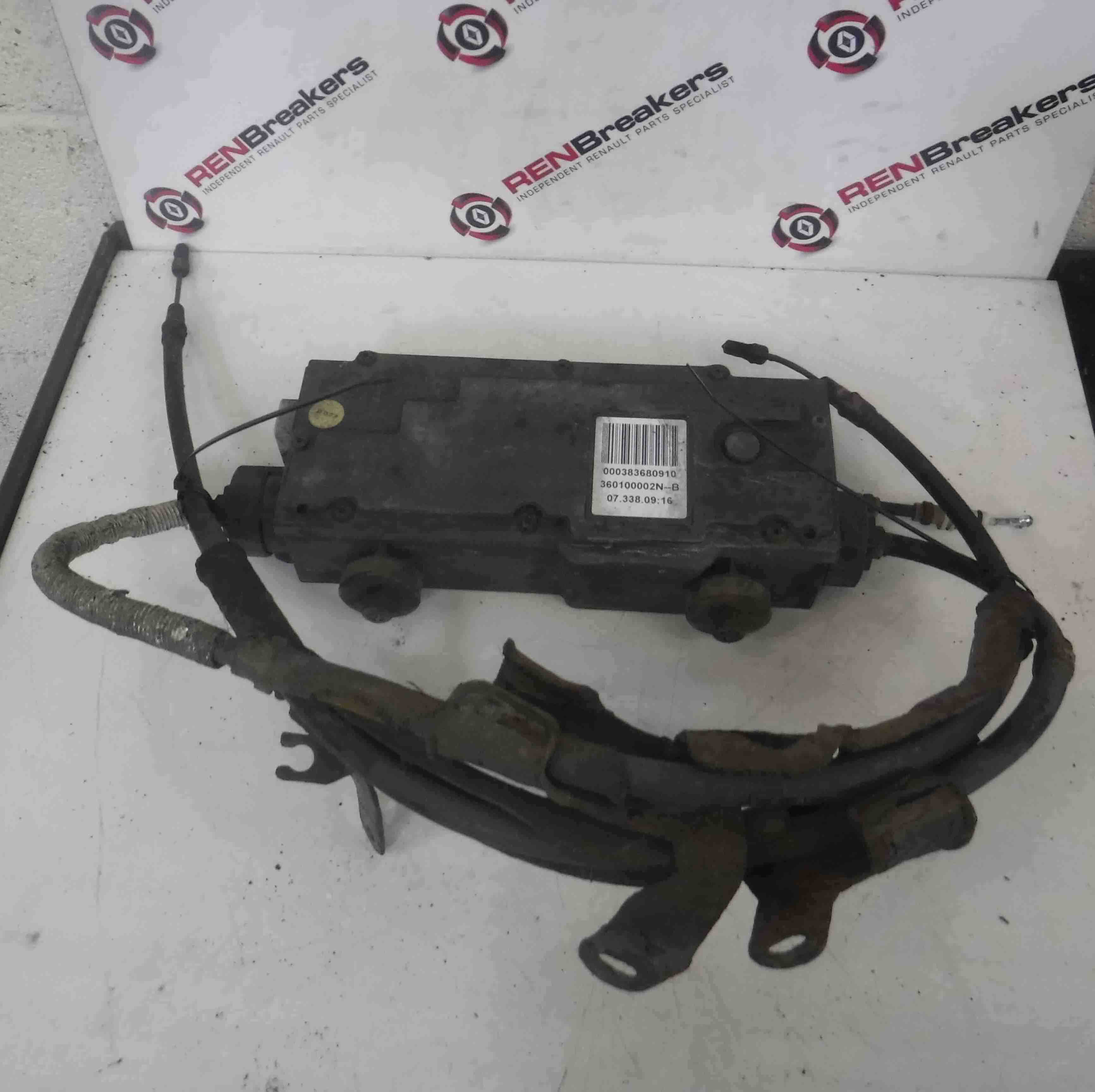 Renault Laguna Estate 2007-2012 Electronic Handbrake Motor + Cables 360100002N