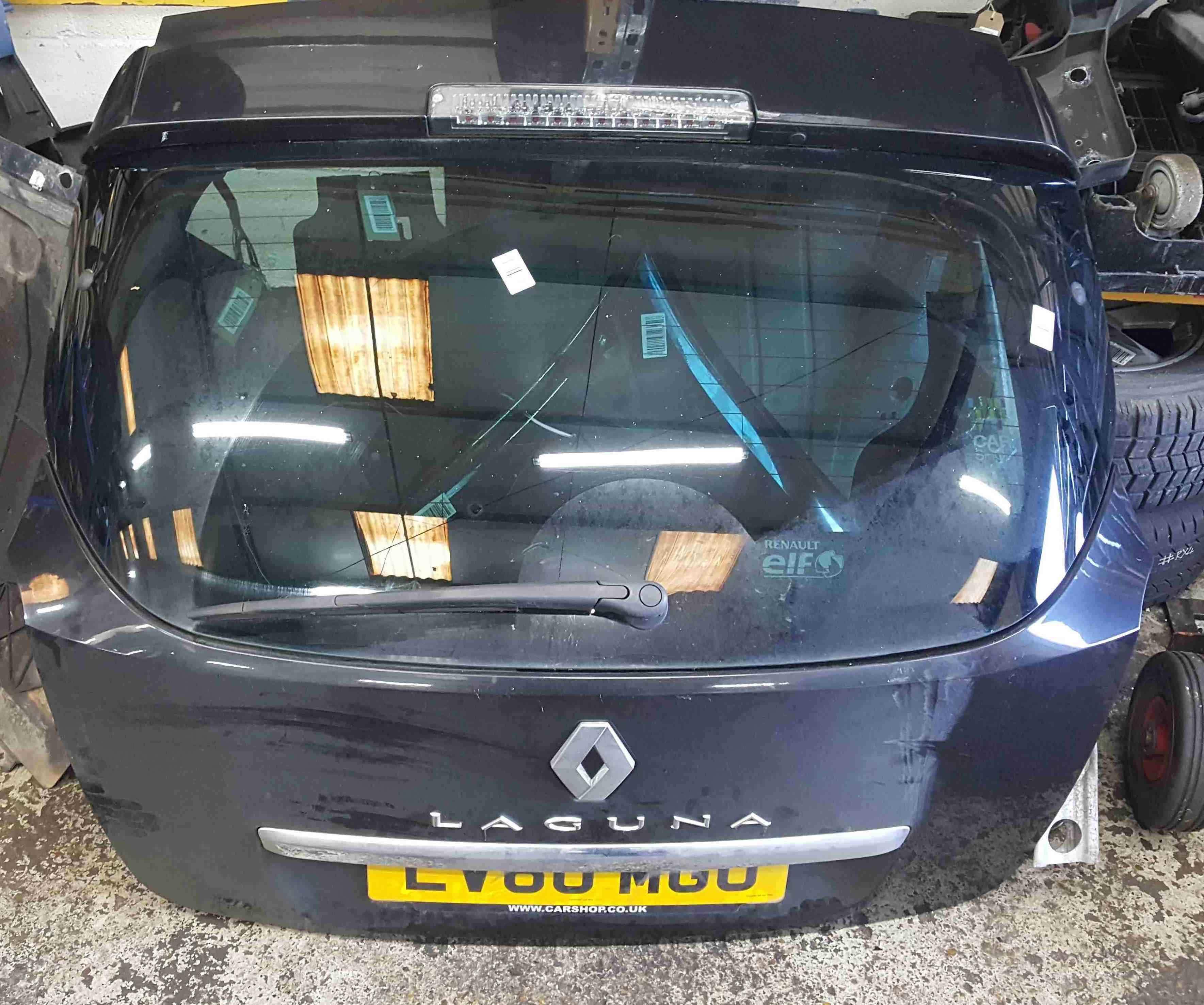 Renault Laguna Estate MK3 2007-2012 Rear Tailgate Boot Black 676