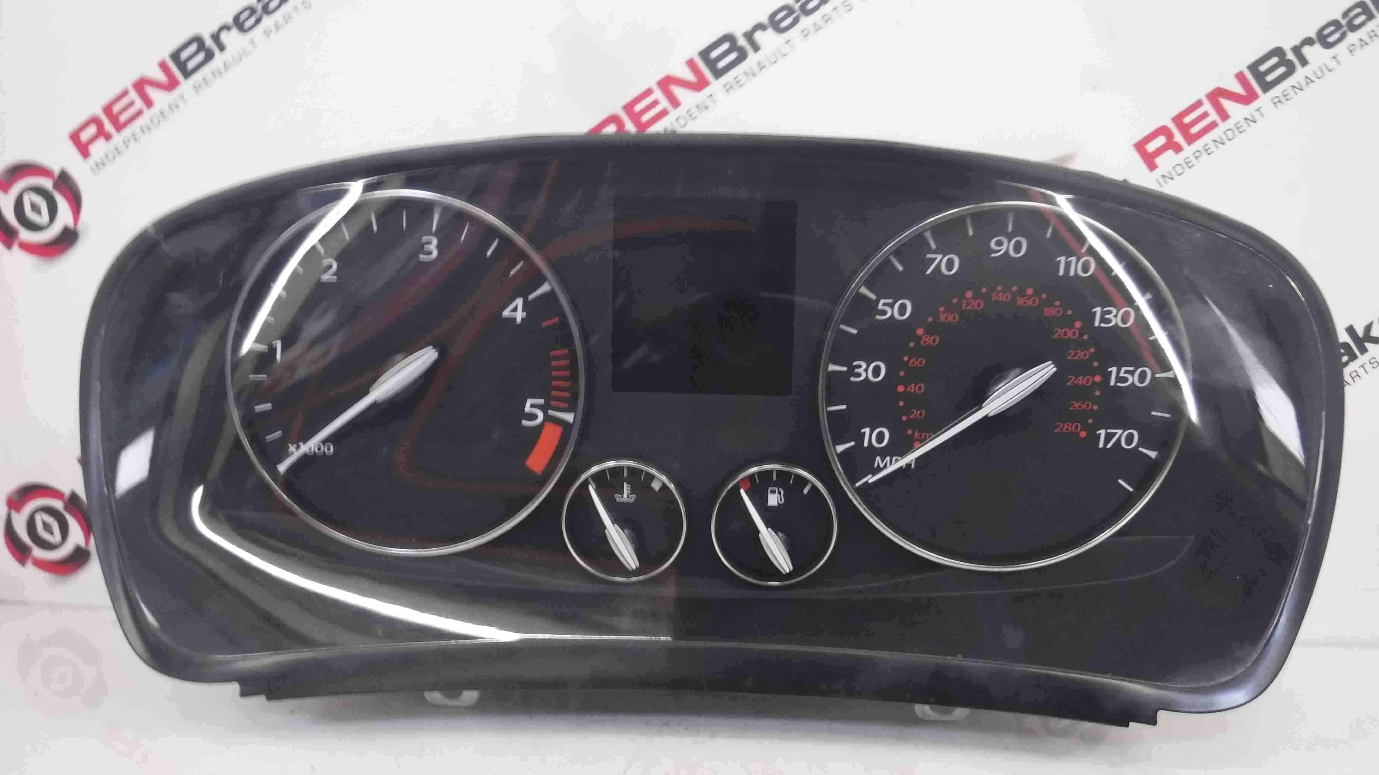 Renault Laguna MK3 2007-2010 Instrument Panel Clocks 122K 248100014R