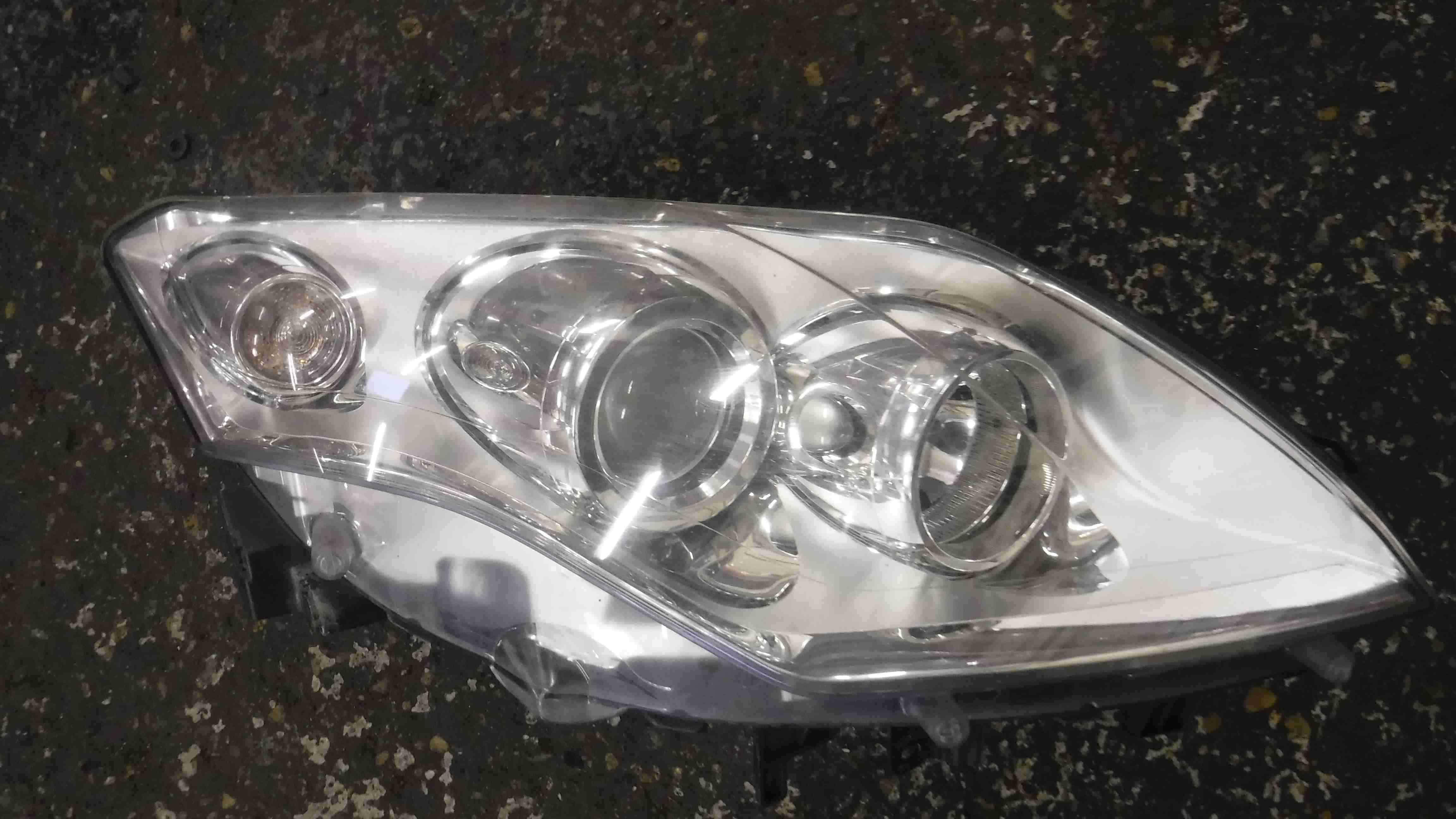Renault Laguna MK3 2007-2010 OSF Front Headlight Chrome 260100032R