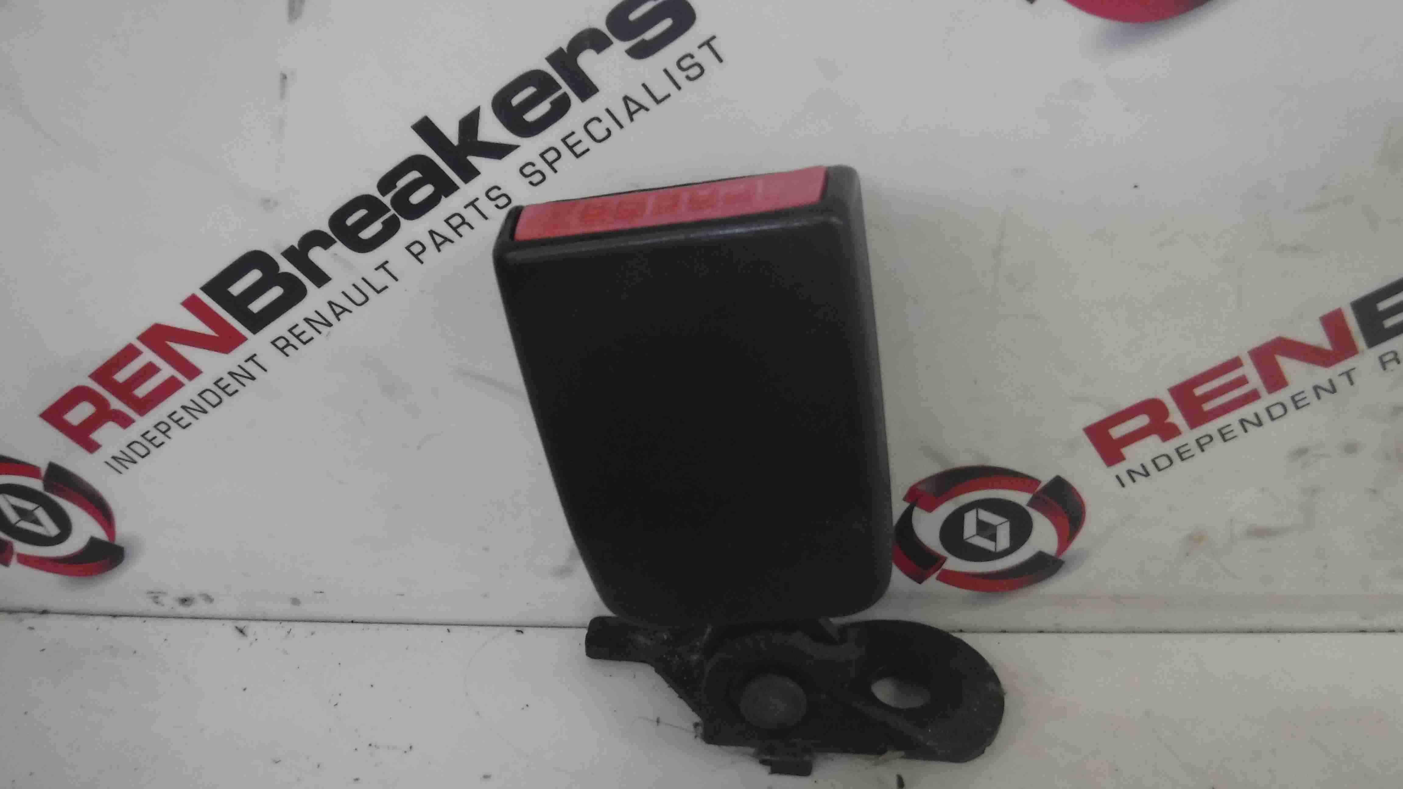 Renault Laguna MK3 2007-2012 Drivers OSR Rear Seat Belt Buckle Red