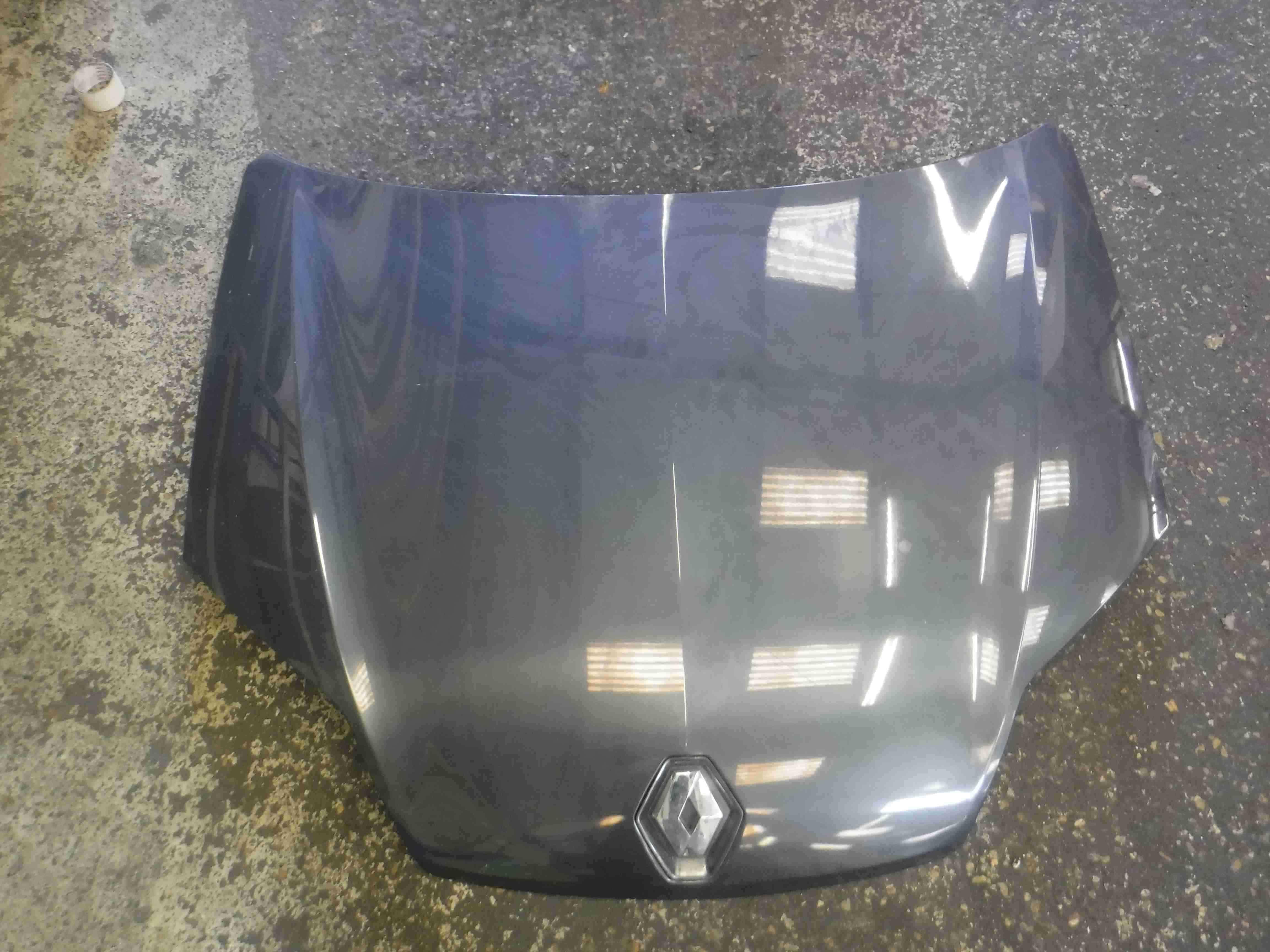 Renault Laguna MK3 2007-2012 Front Bonnet Grey TEB66