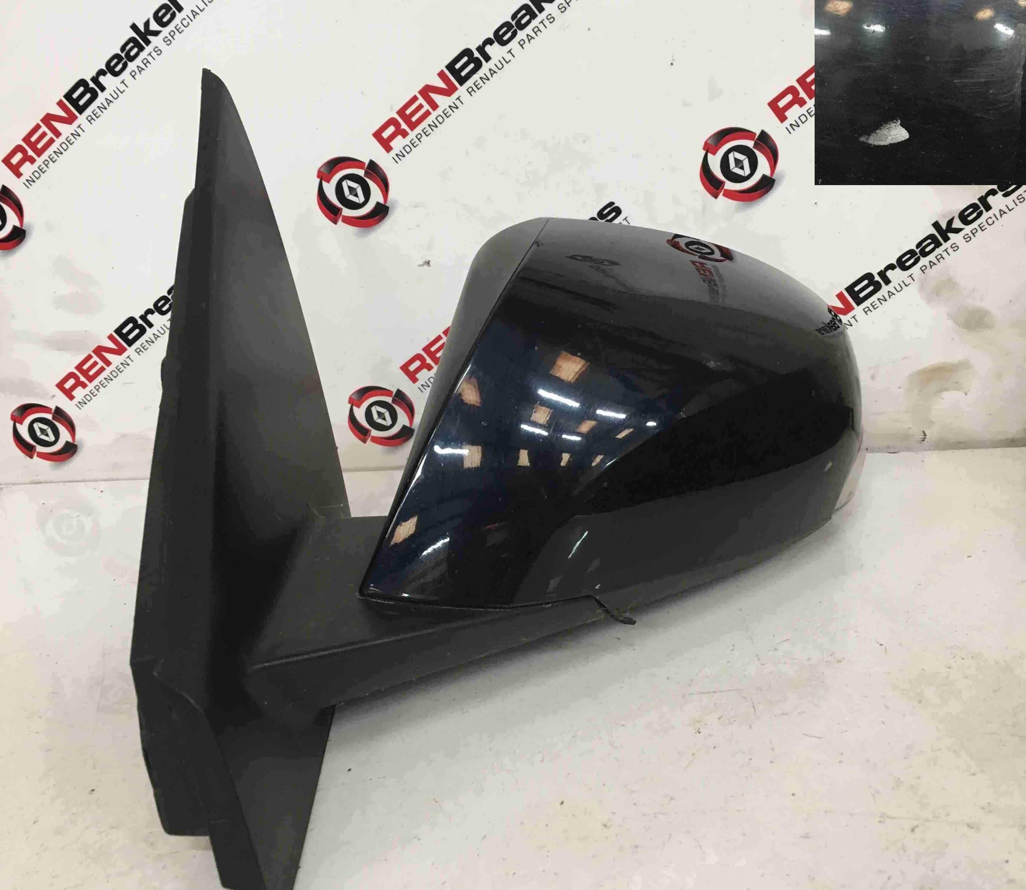 Renault Laguna MK3 2007-2012 Passenger NS Wing Mirror Blue 472