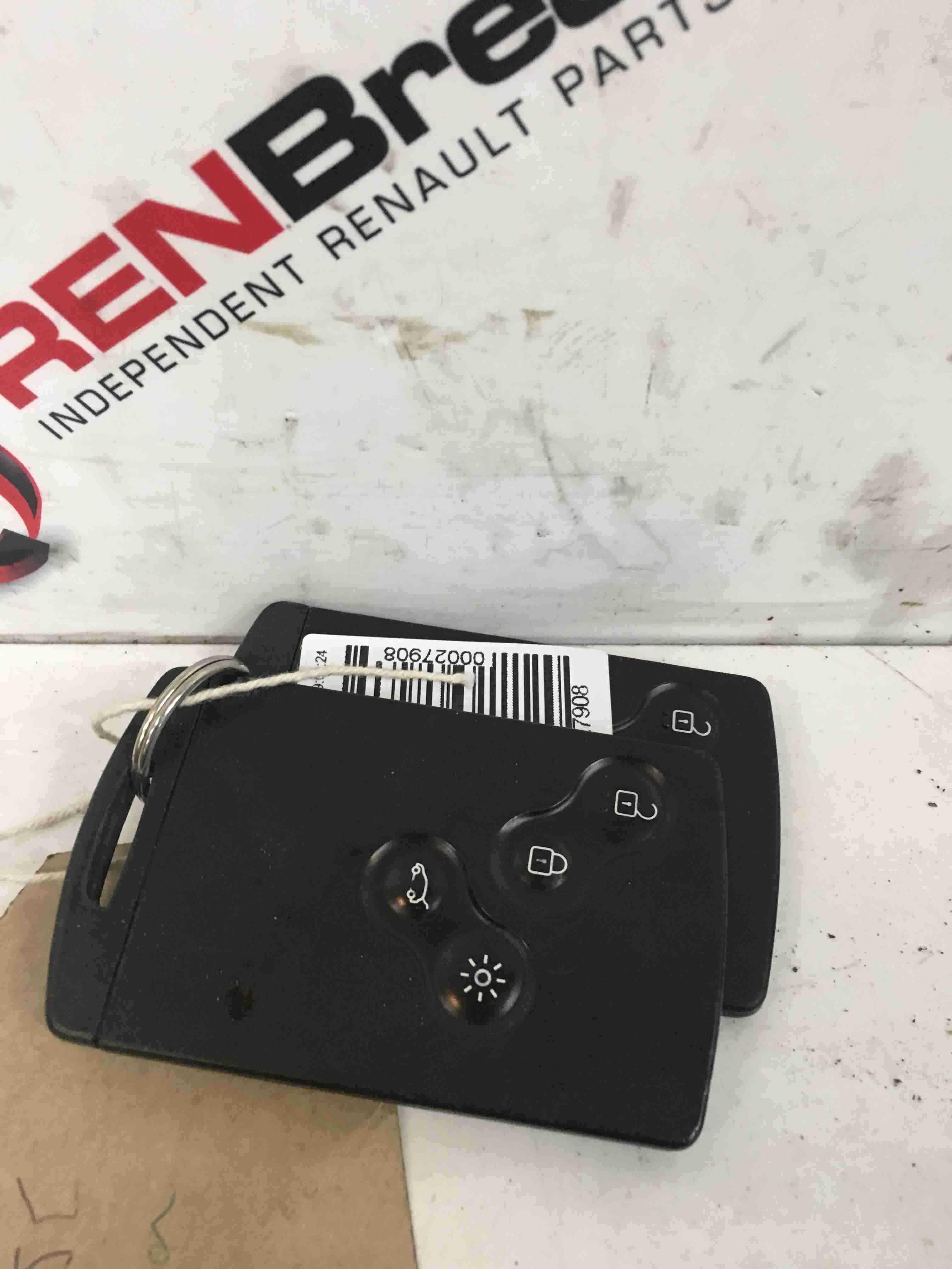 Renault Laguna MK3 2007-2012 Replacement Key Card Case X2