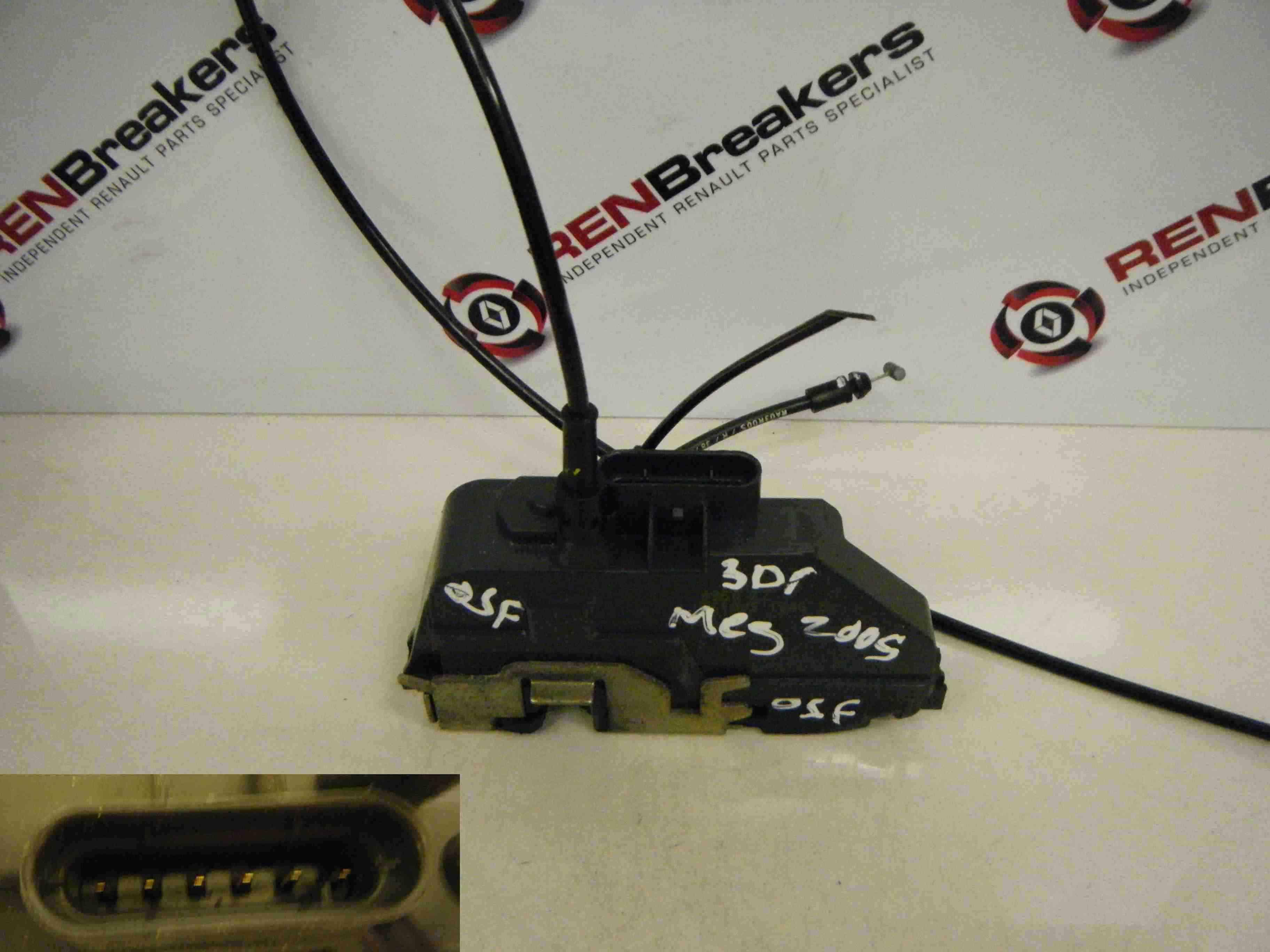 Renault Megane + Convertible 2002-2008 Drivers OSF Front Door Lock Mechanism 3dr