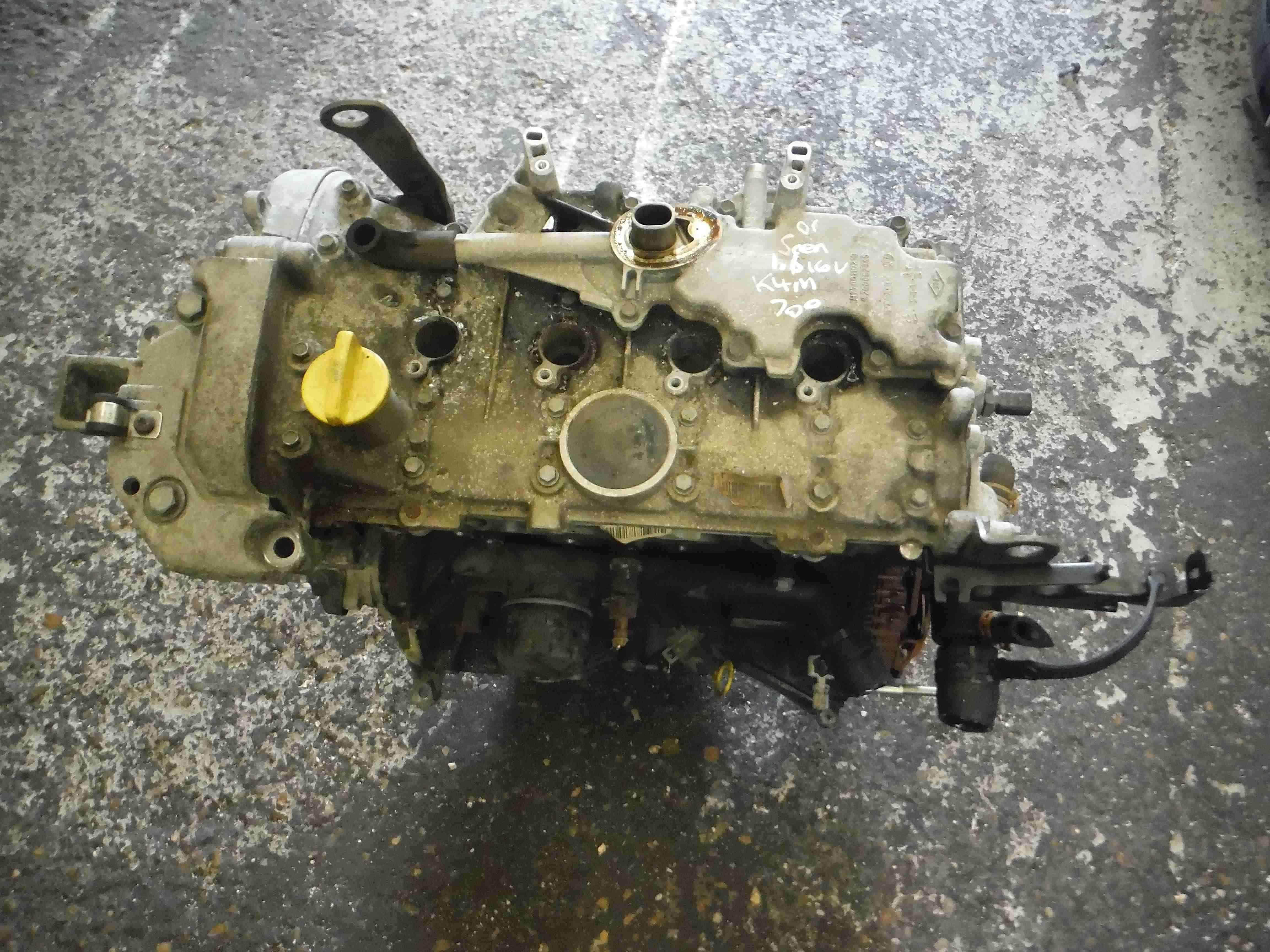 Renault Megane + Scenic 1999-2003 1.6 16v Engine K4M 700 K4M700