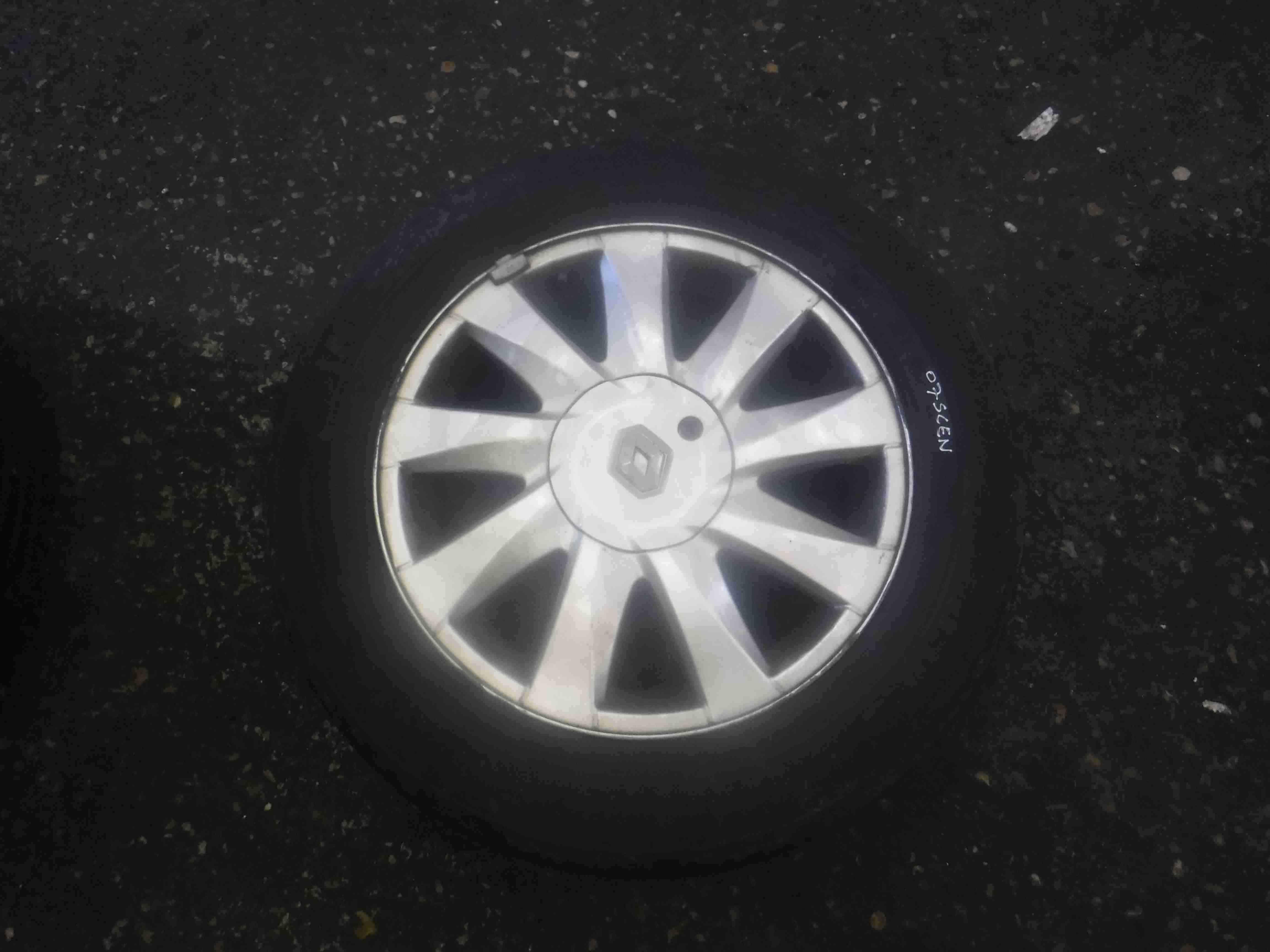 Renault Megane  Scenic 2003-2009 Kubbera Kubera Alloy Wheel 16inch 8200464412