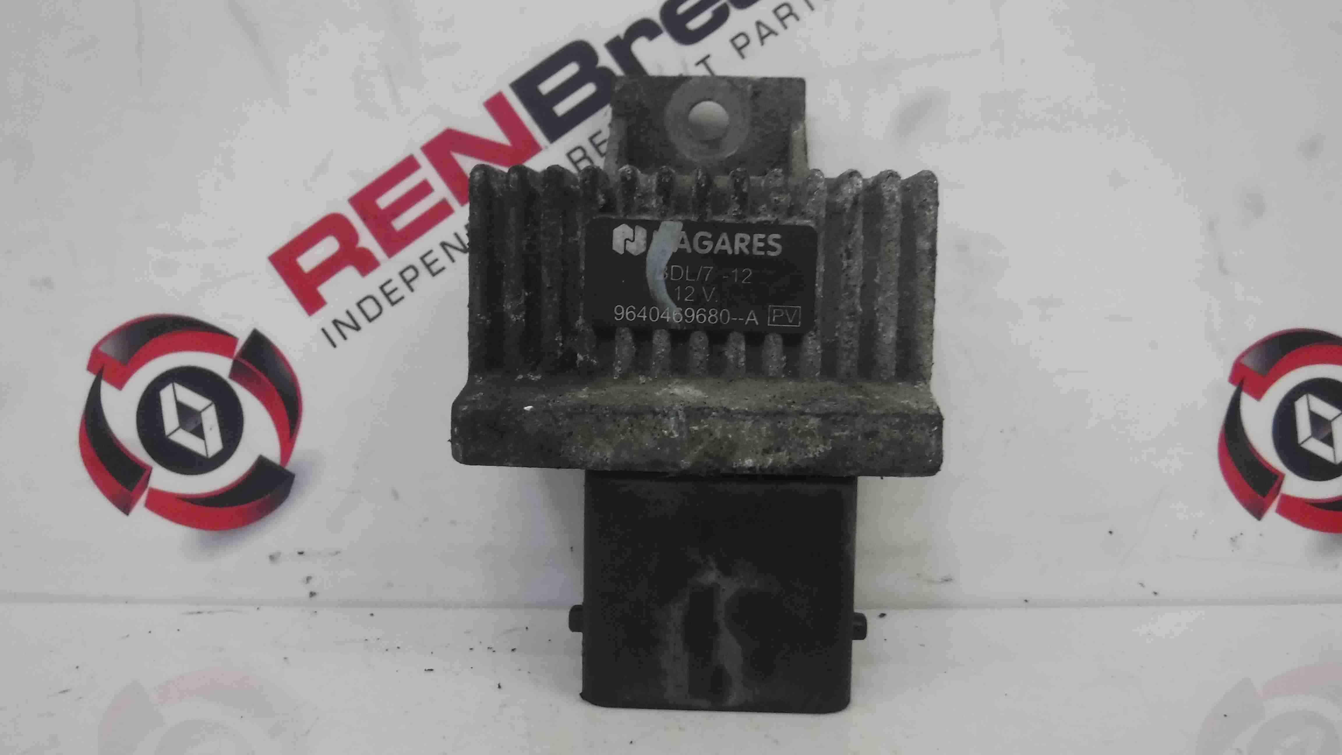 Renault Megane + Scenic 2006-2008 1.5 dCi Glow Plug Relay K9K 732 9640469680