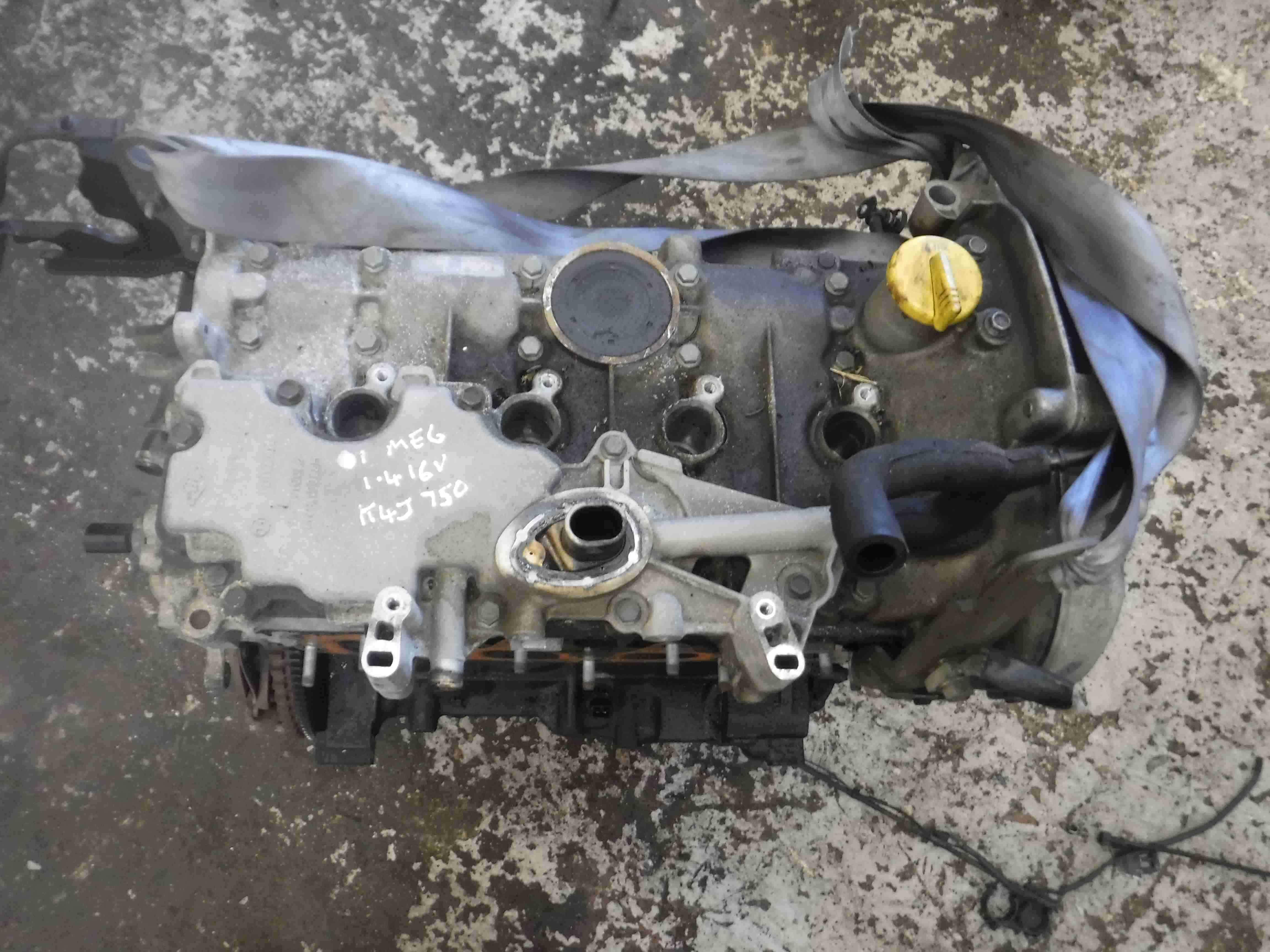 Renault Megane 1999-2002 1.4 16v Engine K4J 750 K4J750