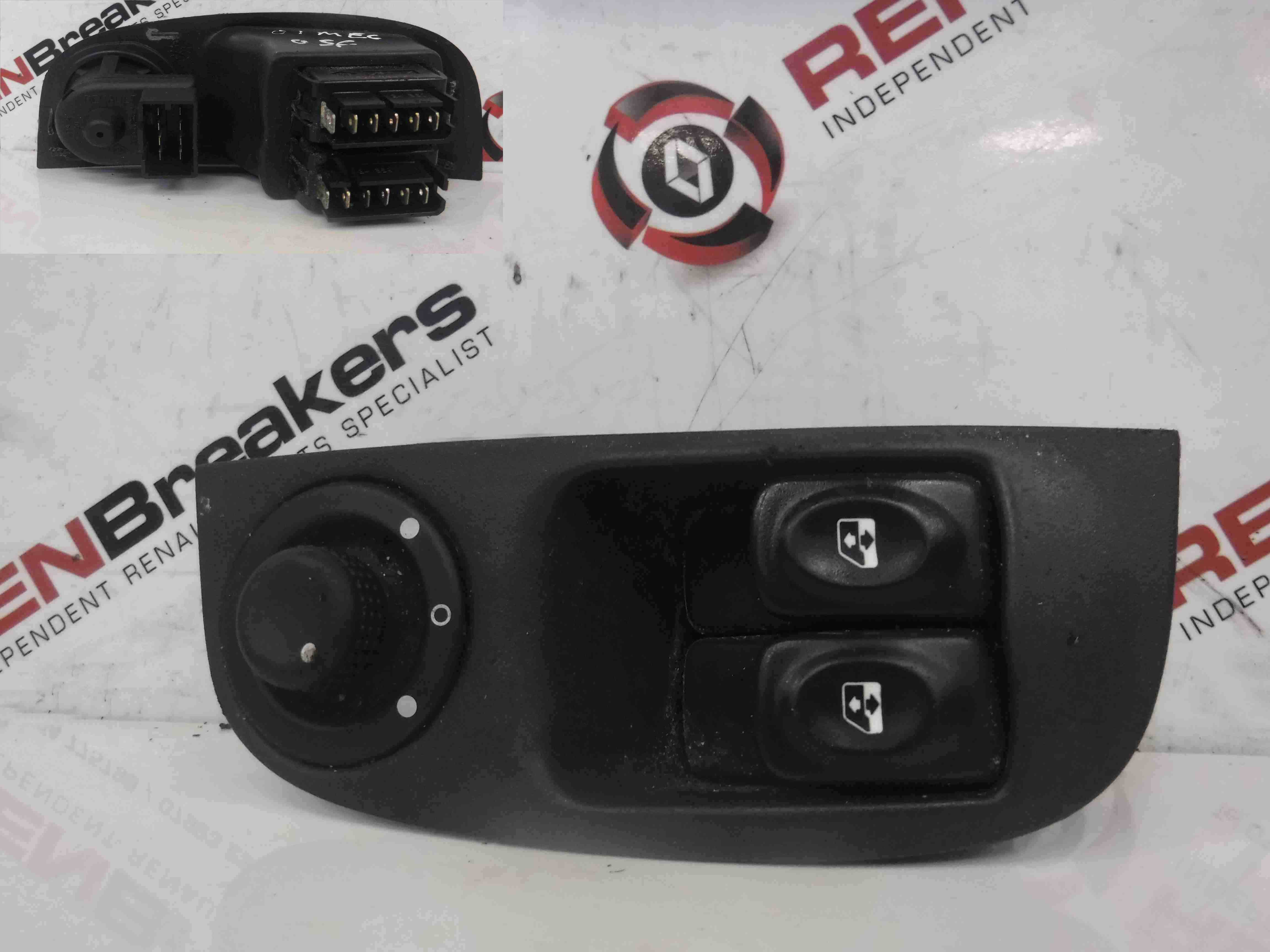 Renault Megane 1999-2002 Drivers OSF Front Window Switches