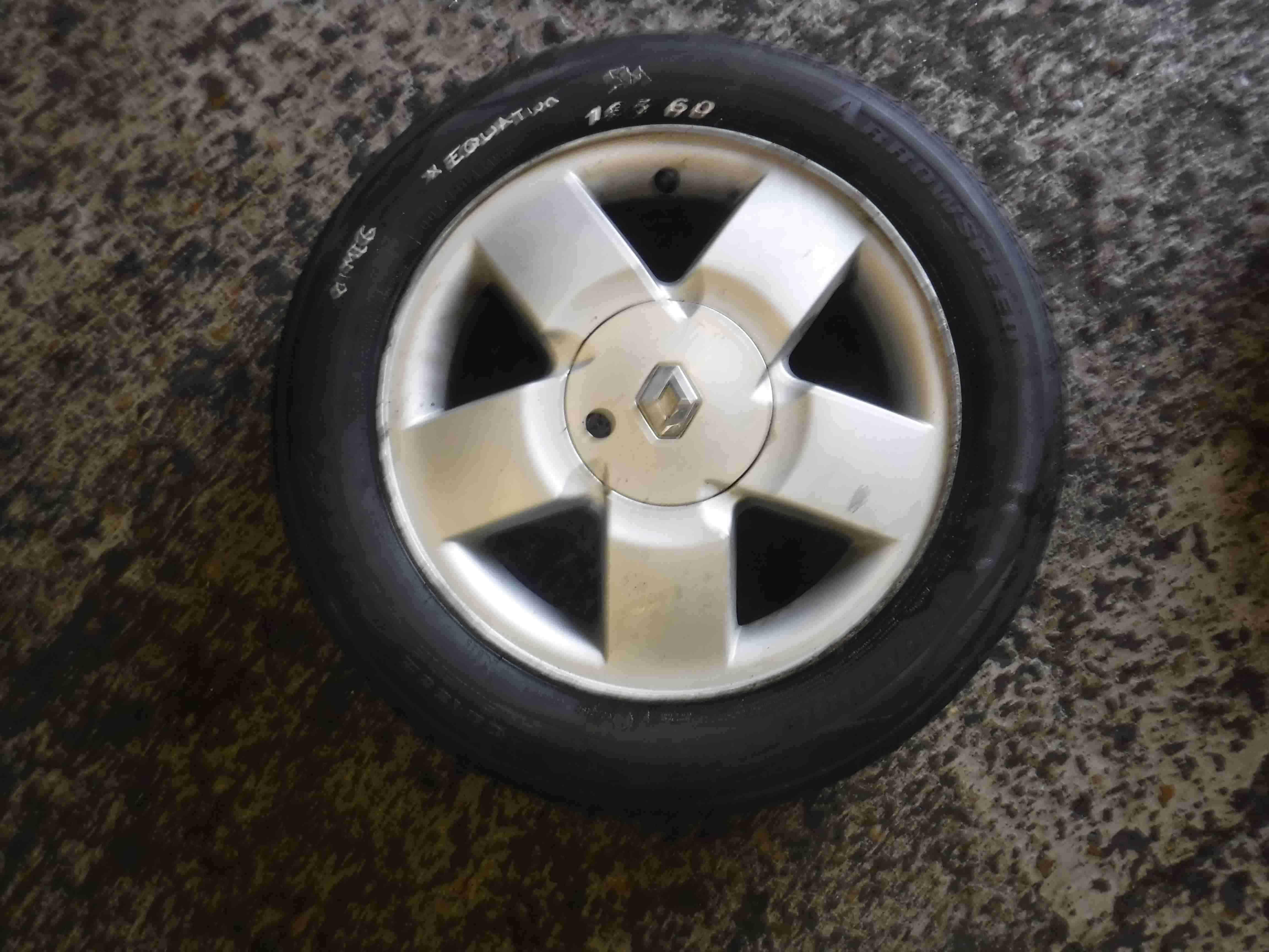 Renault Megane 1999-2002 Equation Alloy Wheel 15inch 4/5