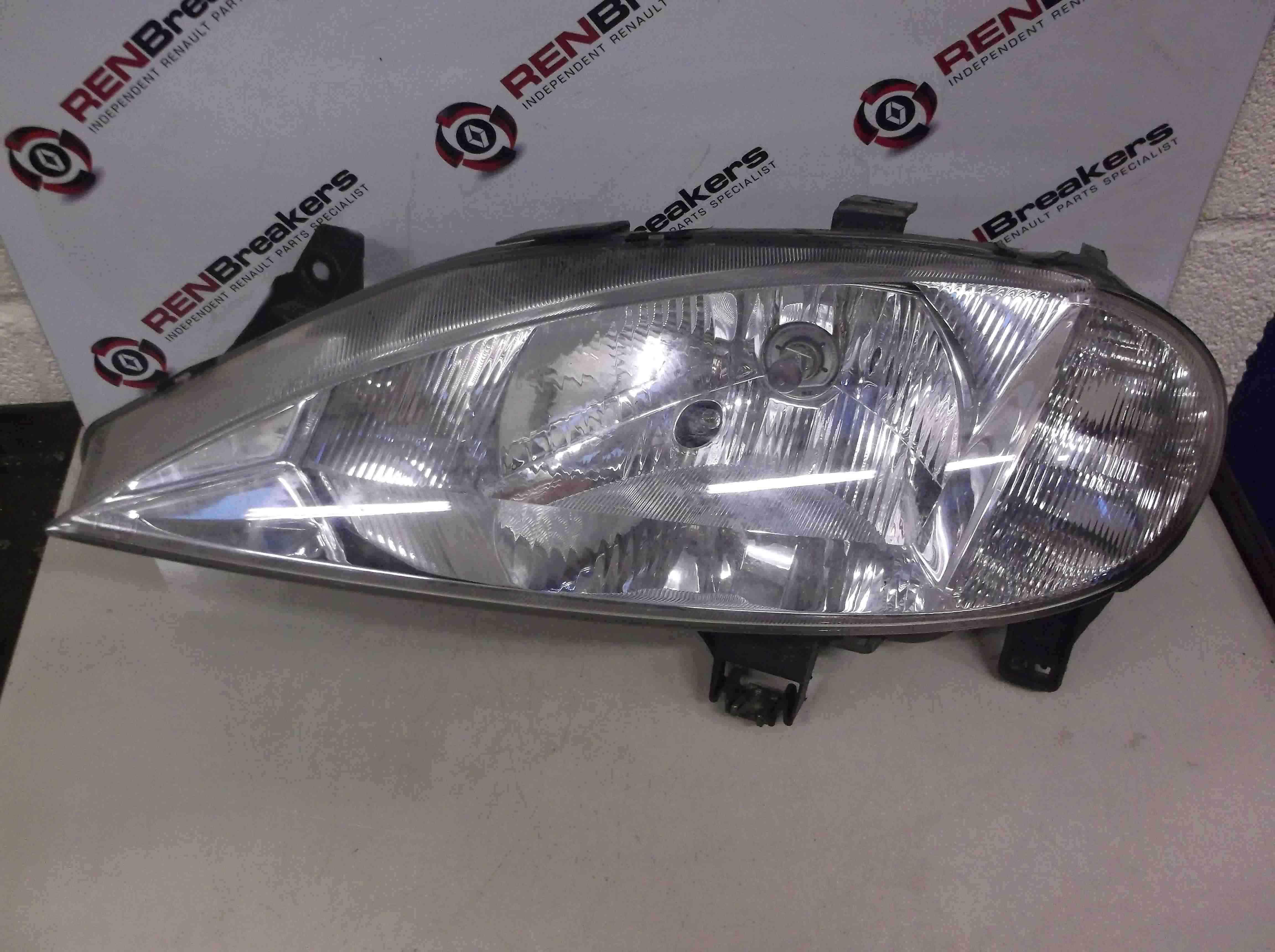 Renault Megane 1999-2002 Passenger NSF Front Headlight Lamp 7700427875