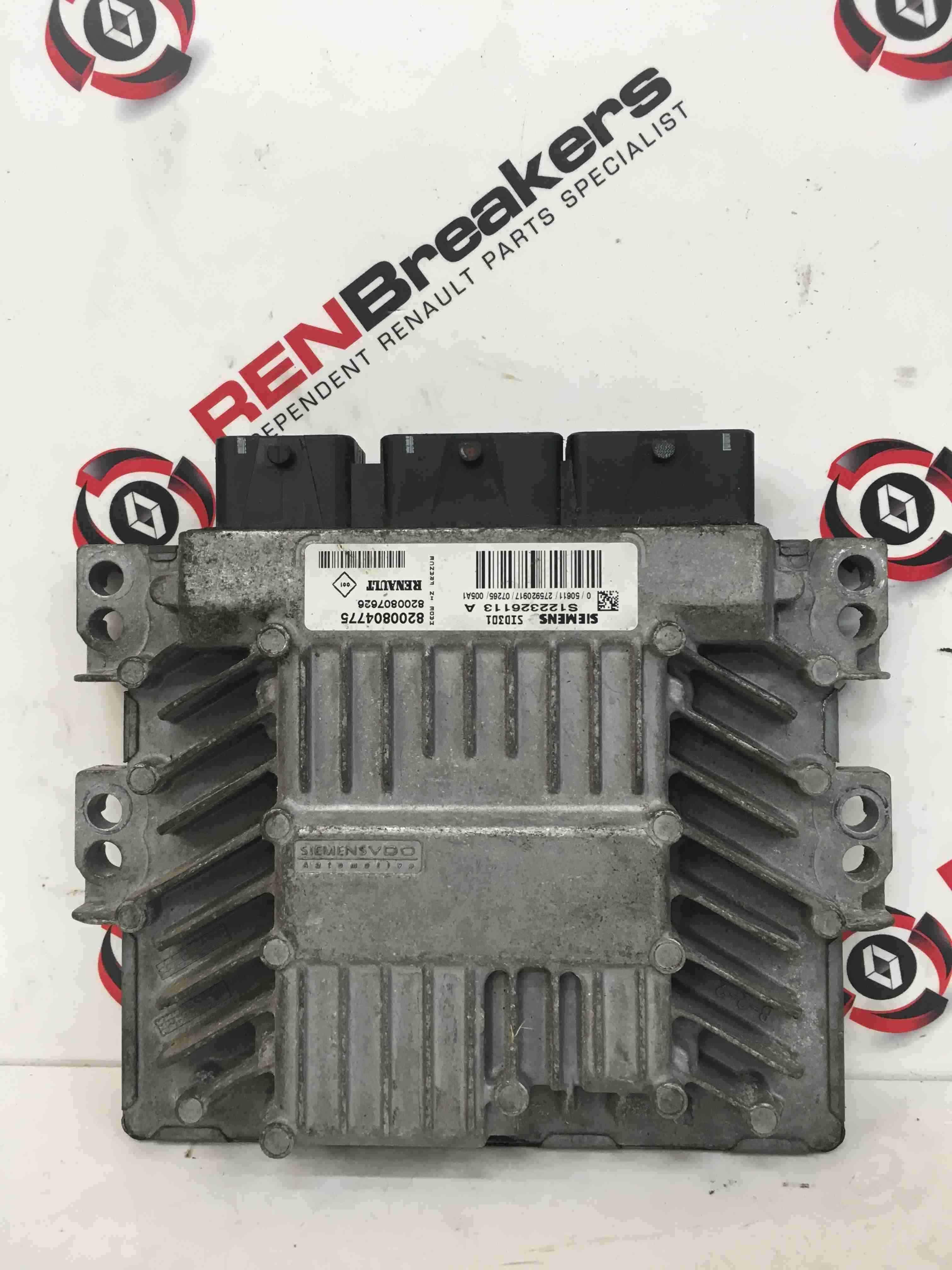 Renault Megane 2002-2008 1.5 DCi Engine Control Unit ECU Computer 8200804775