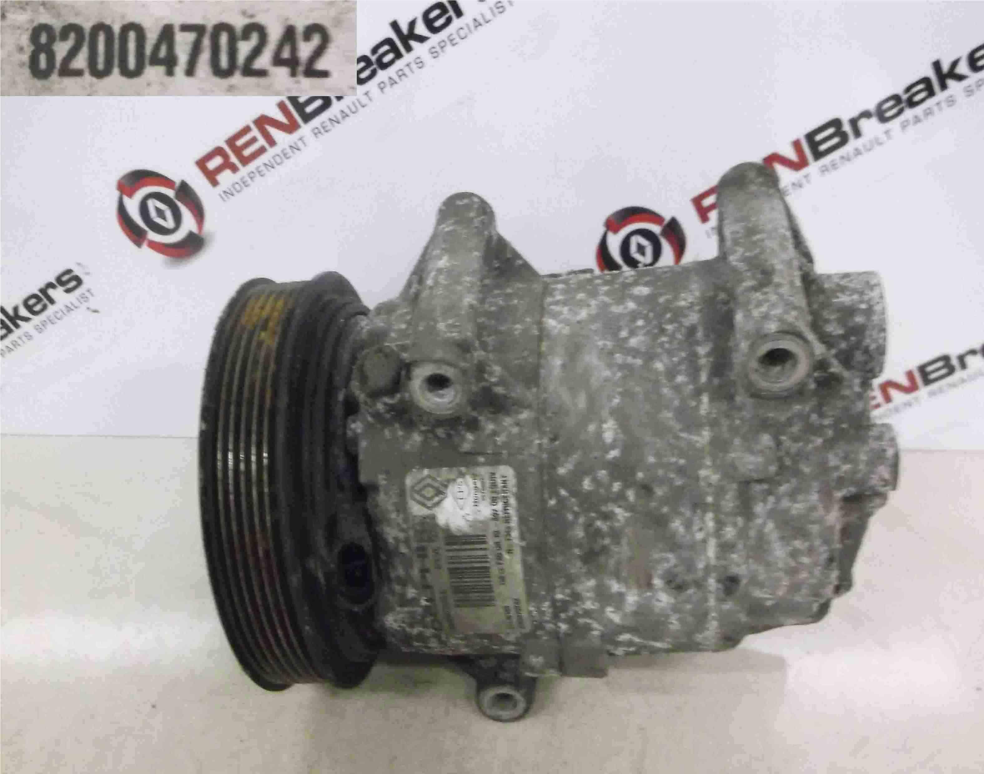 Renault Megane 2002-2008 1.6 16v 1.5 dCi Aircon Pump Compressor Unit 8200470242