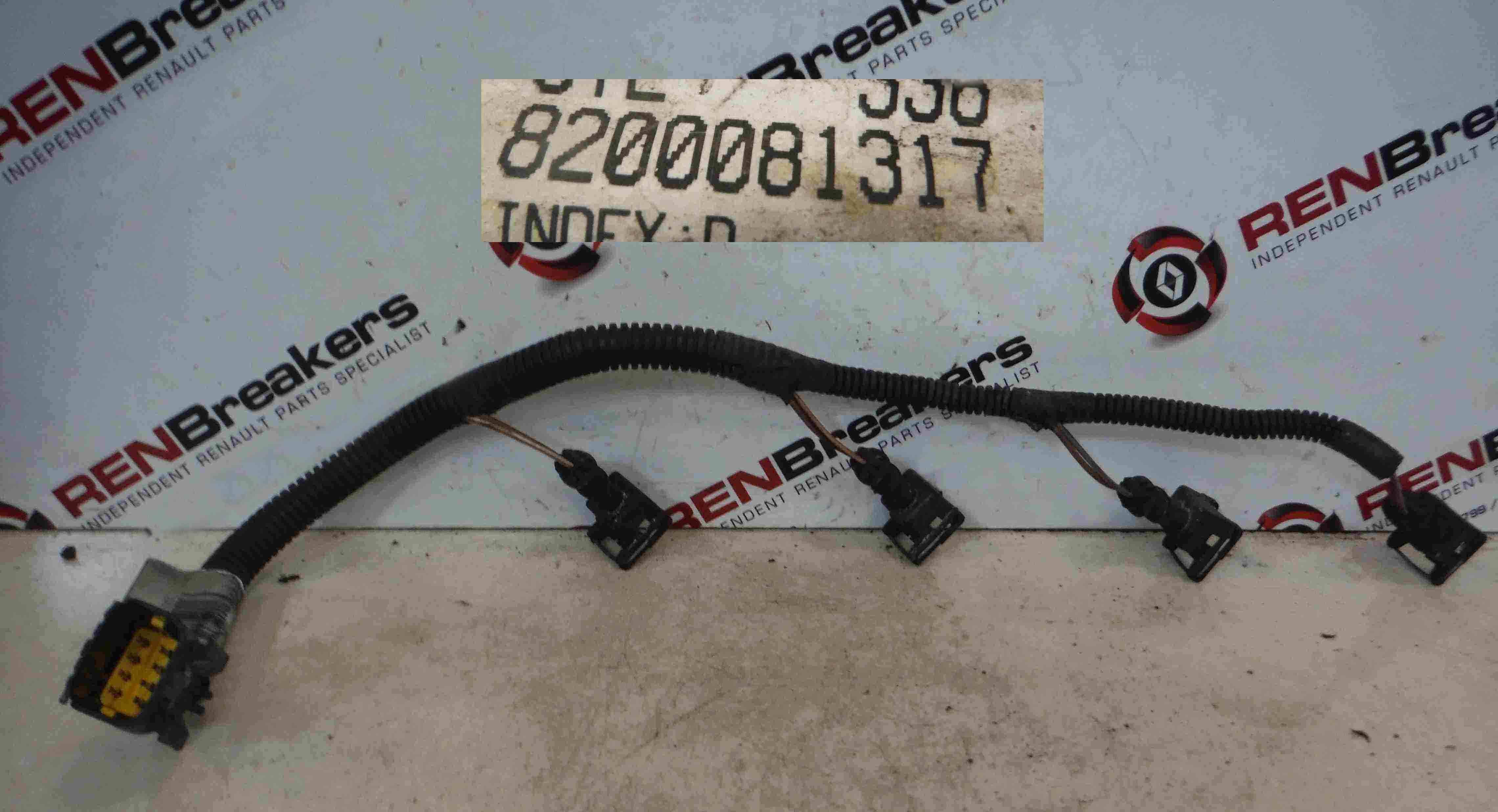 Renault Megane 2002-2008 + MK3 1.6 16v Injector Wiring Loom 8200081317