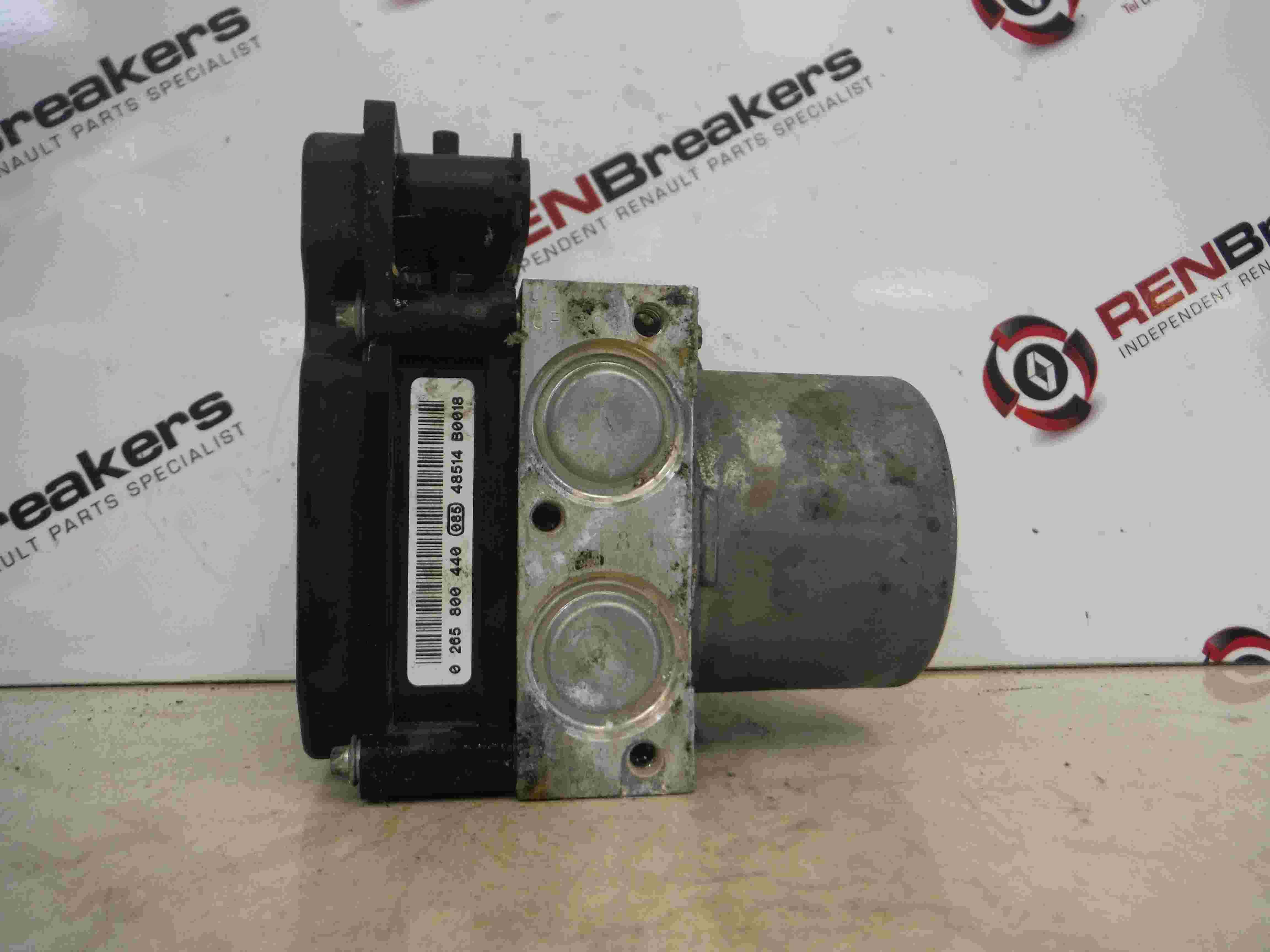 Renault SCENIC 2003-2013 ABS PUMP Compressor Unit 8200737985