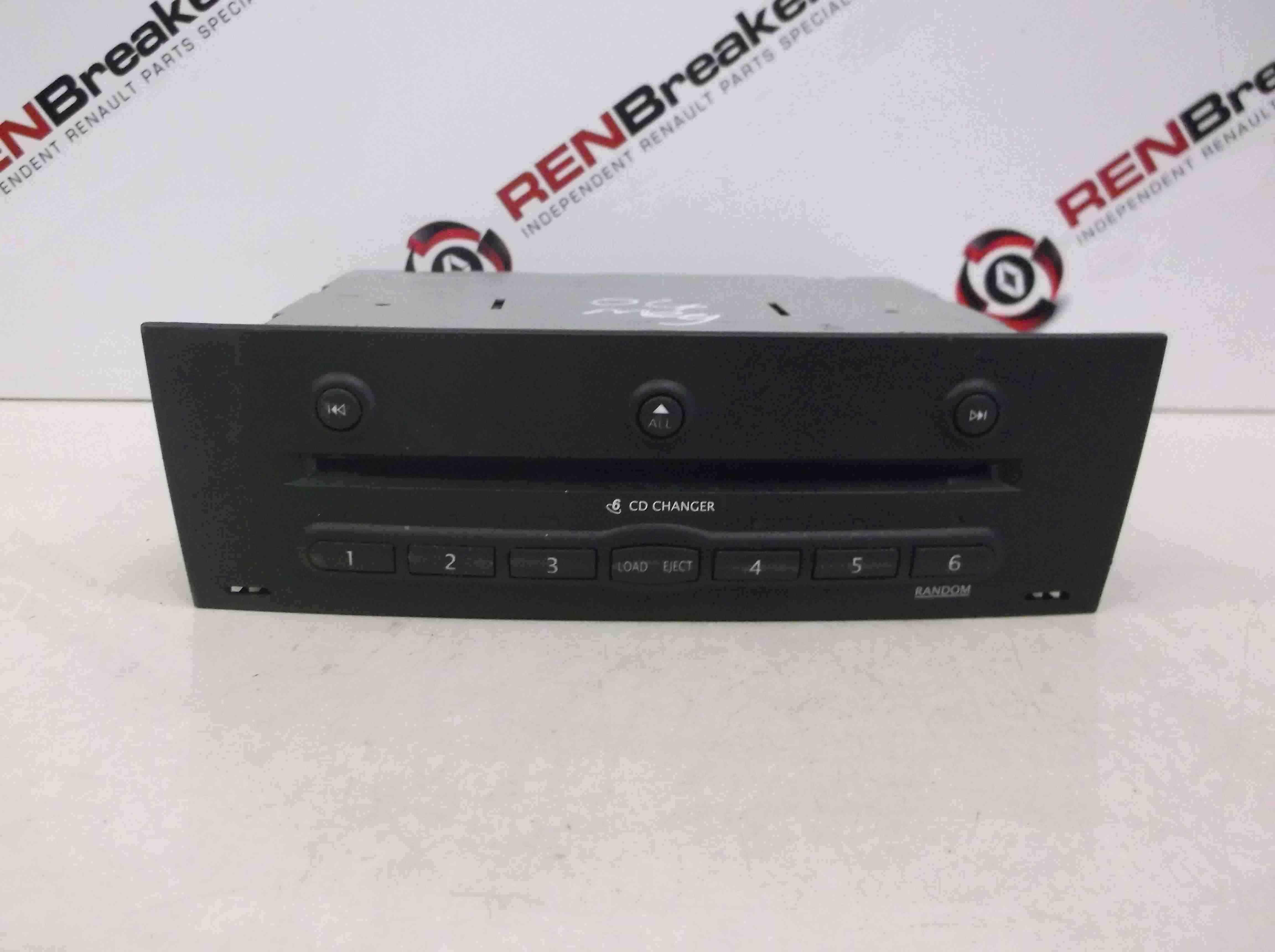 Renault Megane 2002-2008 CD Player CD Multi Disc Changer 8200084437