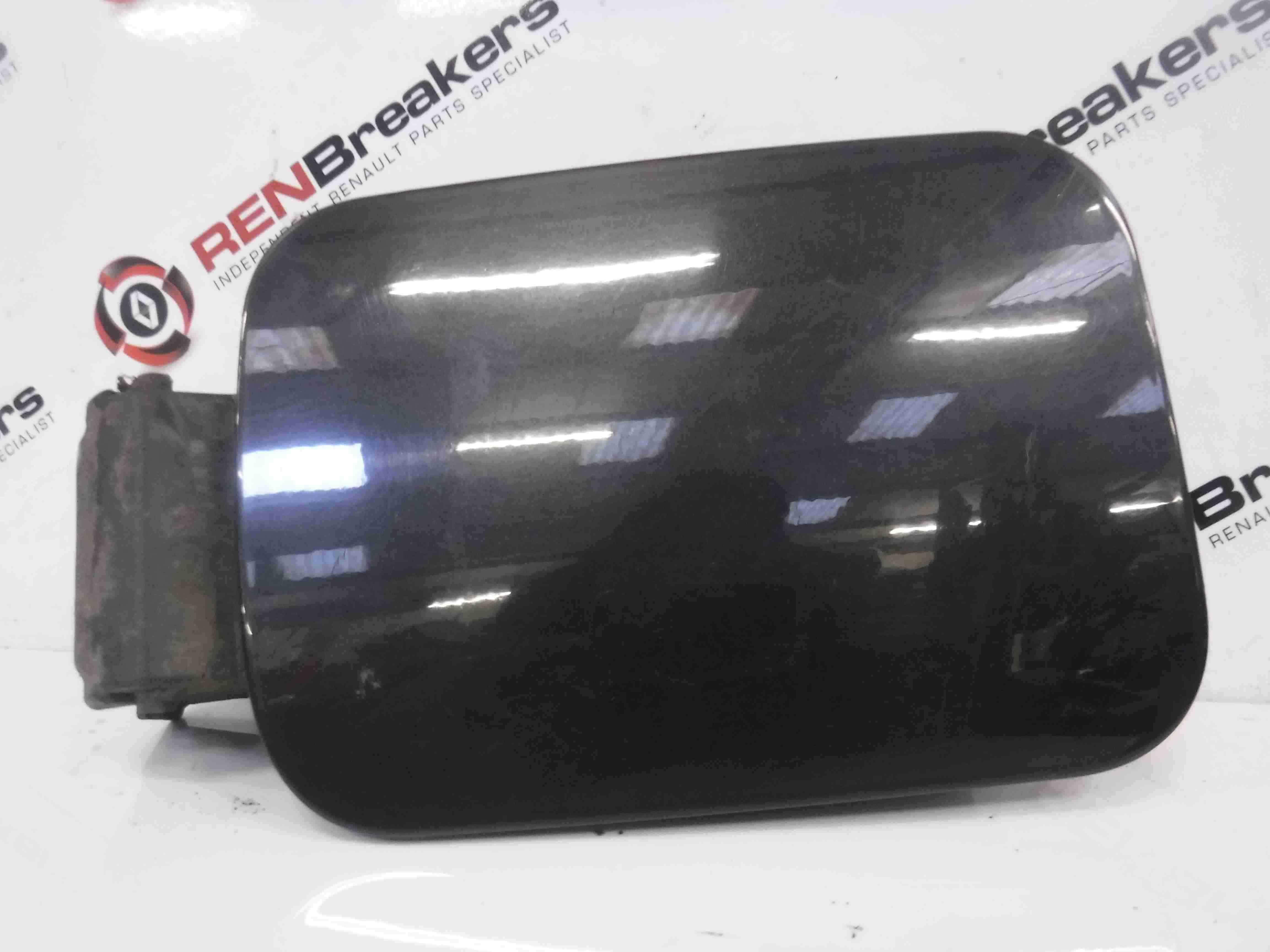 Renault Megane 2002-2008 Fuel Flap Cover Black 676 Hinges