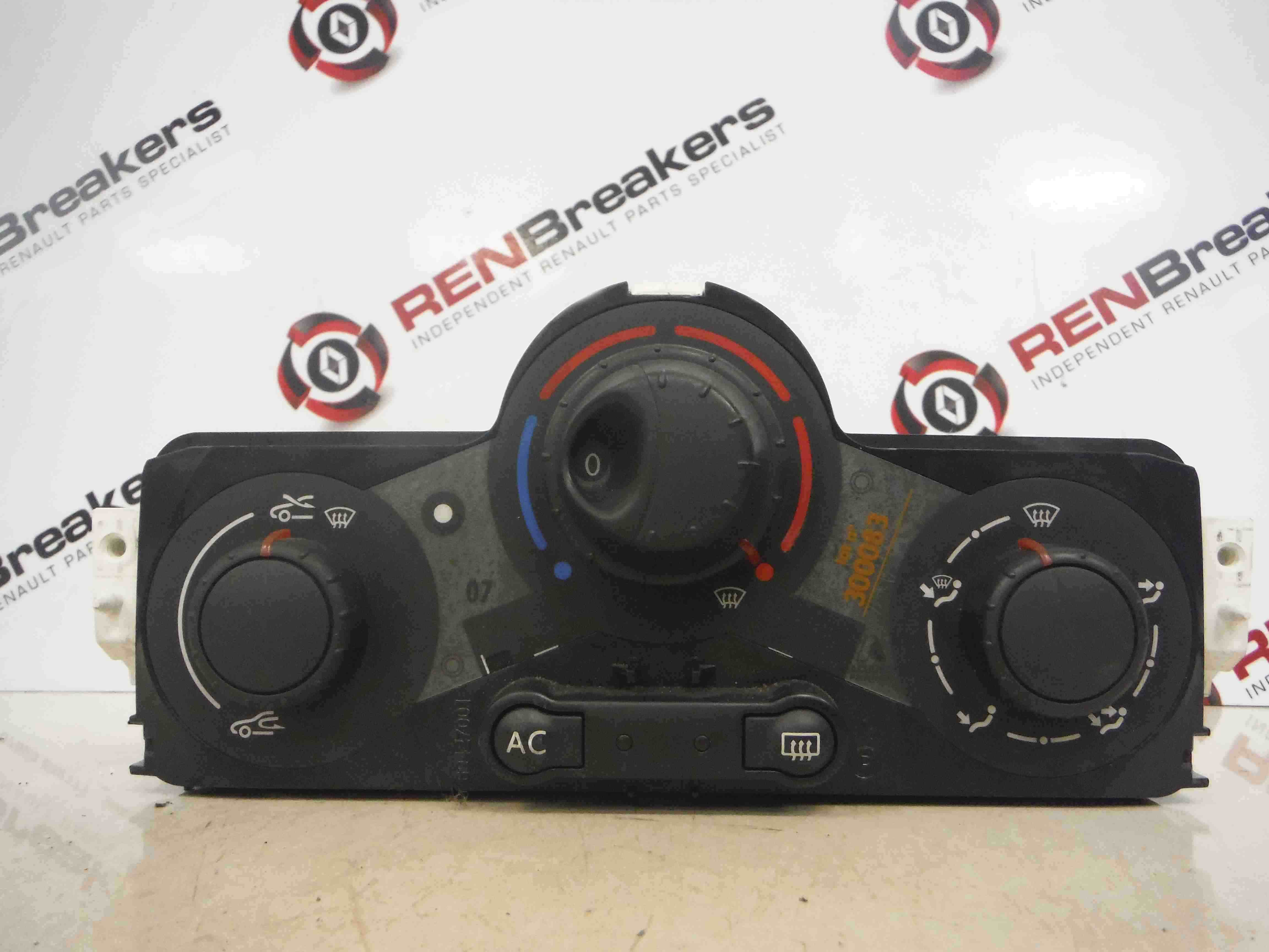 Renault Megane 2002-2008 Heater Controls Switch Dials Aircon 69420001 69420003