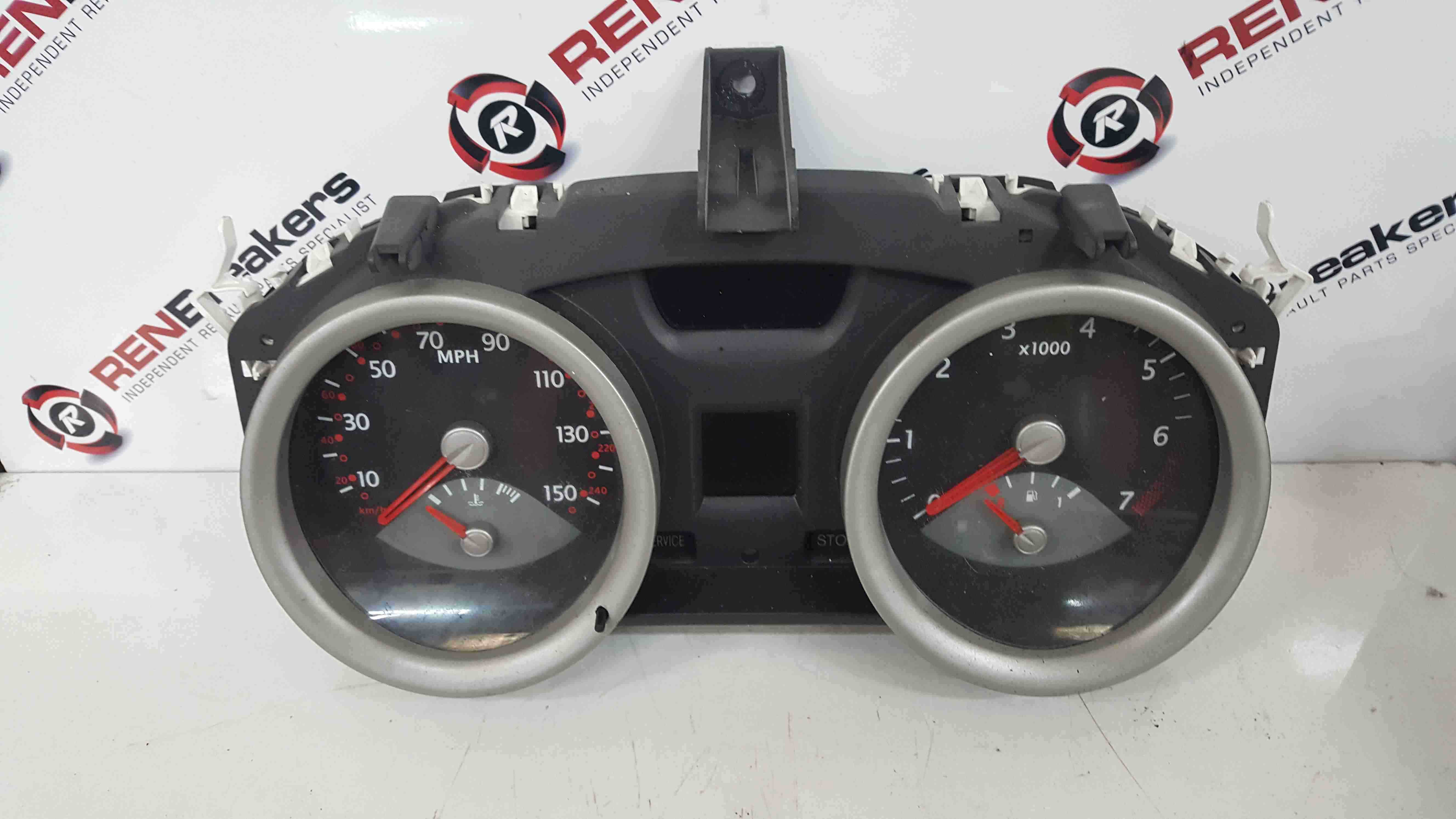 Renault Megane 2002-2008 Instrument Panel Clocks Gauges 8200364029