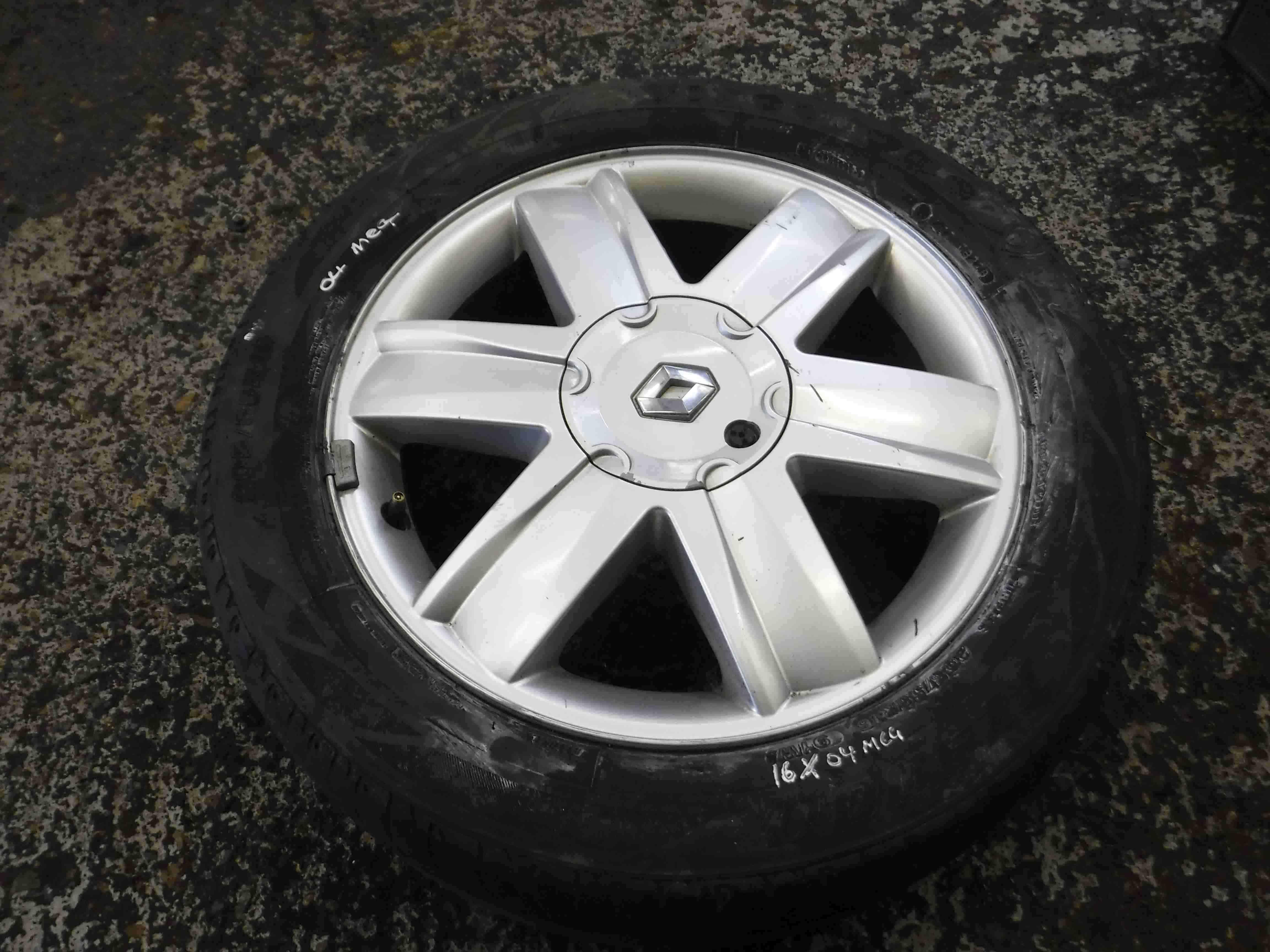 Renault Megane + Scenic 2002-2008 Nervastella Alloy Wheel 16inch 3/5
