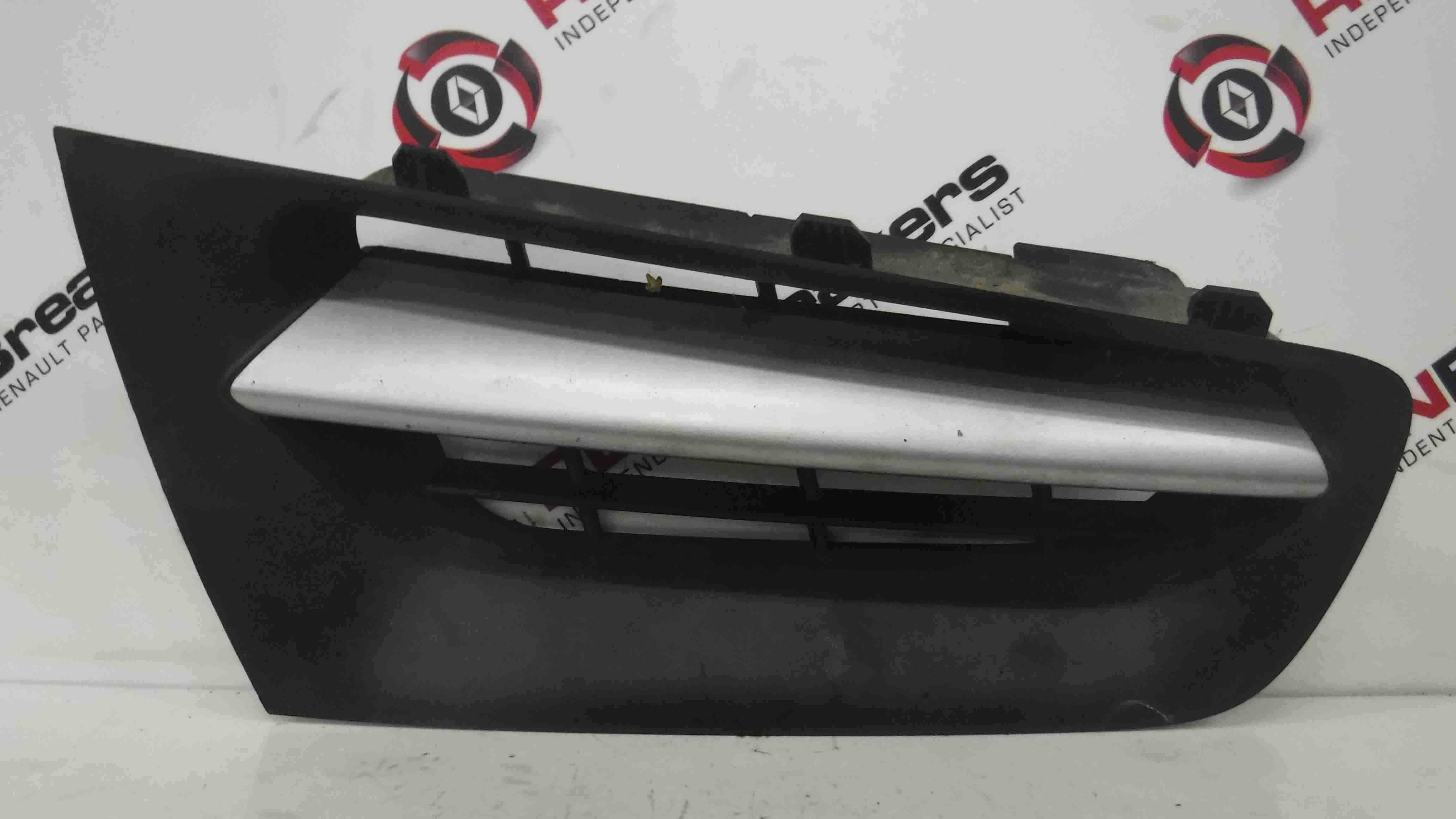 Renault Megane 2006-2008 Drivers OSF Front Bumper Grill Grille Insert 8200069371