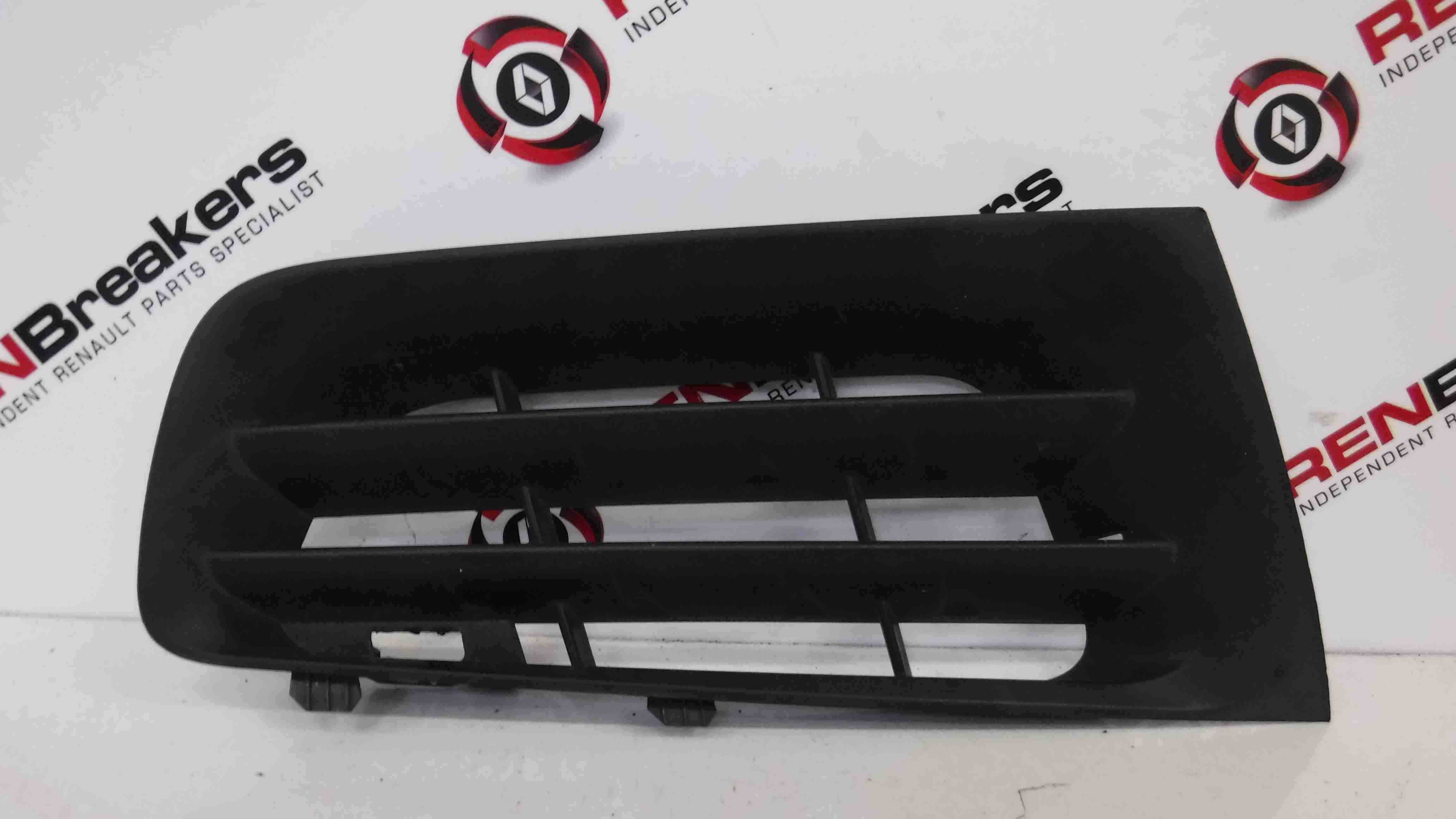 Renault Megane 2006-2008 Drivers OSF Front Bumper Grill Grille Insert 8200412380
