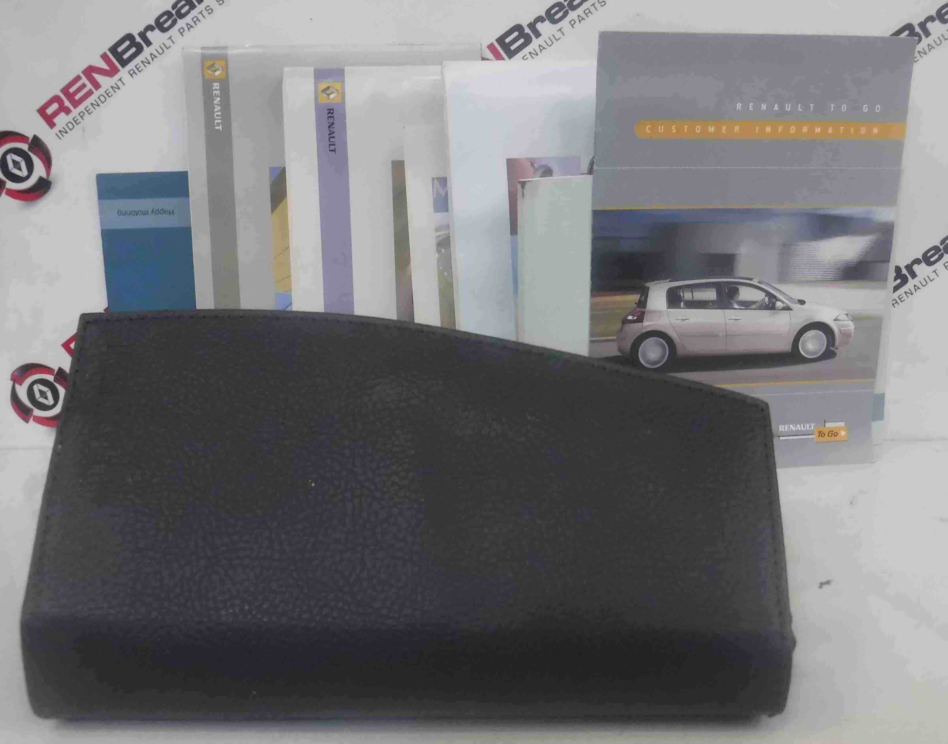 Renault Megane 2006-2008 Handbook Documents + Wallet
