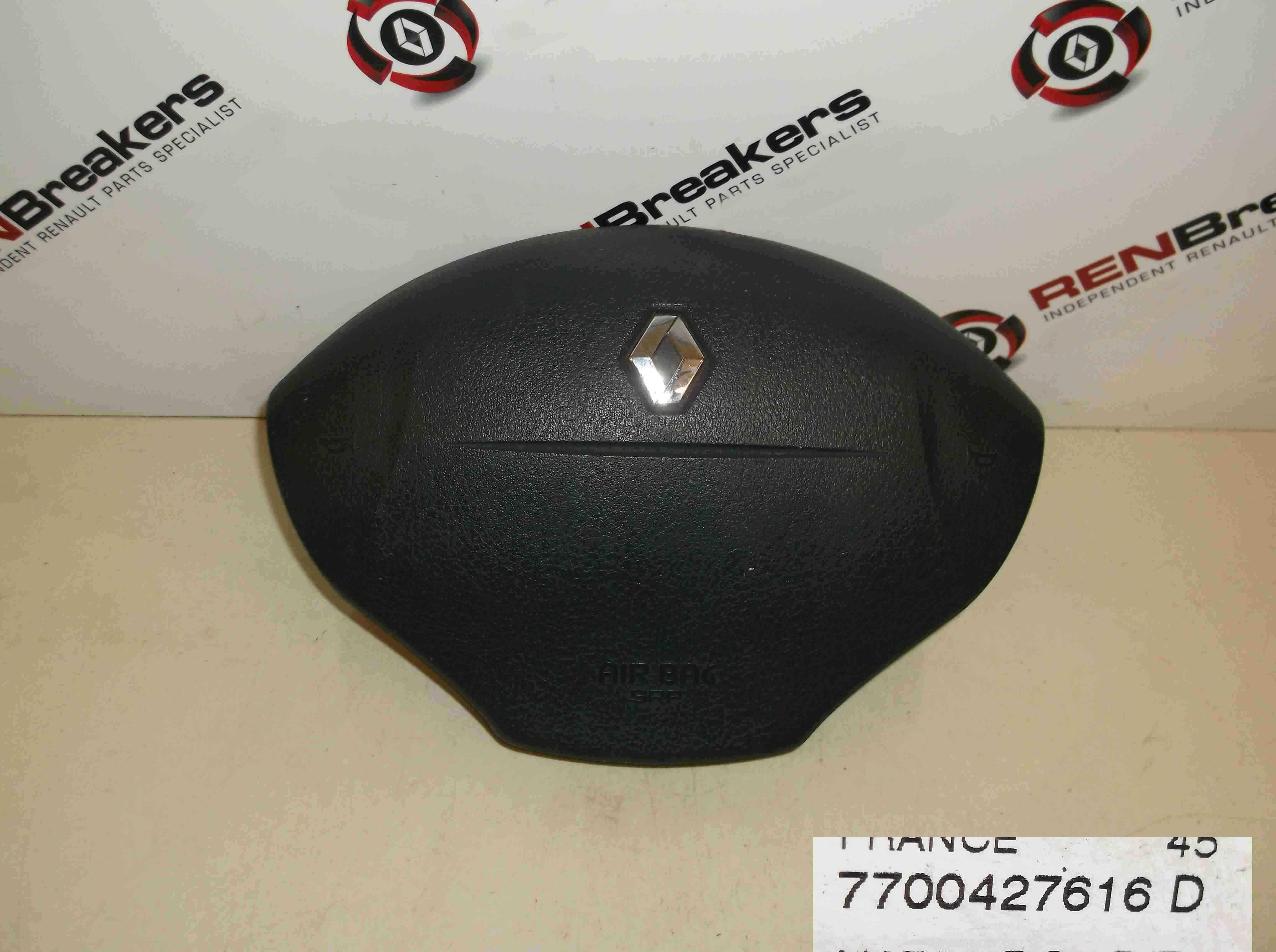 Renault Megane Convertible 1999-2002 Drivers Steering Wheel Airbag