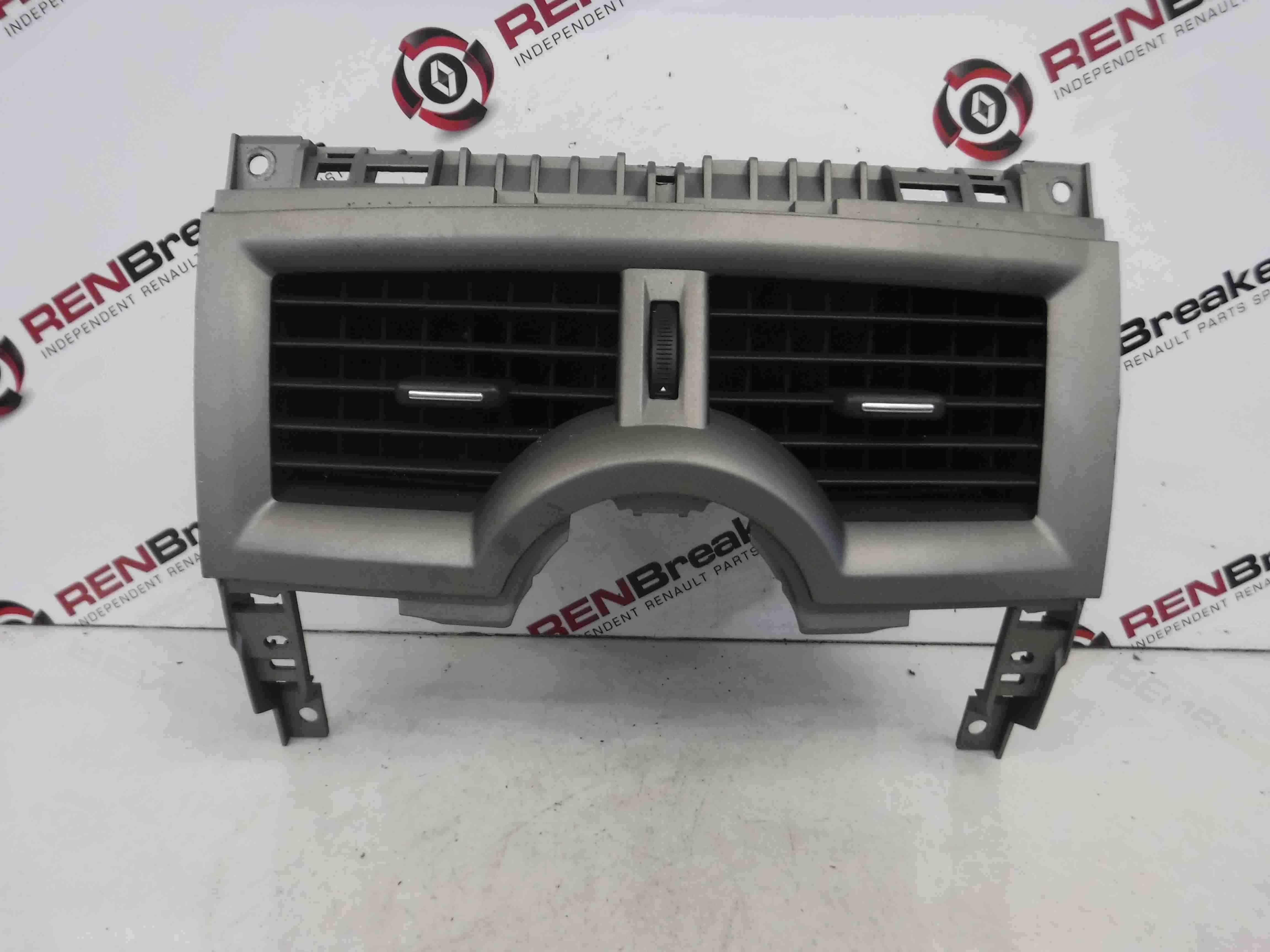 Renault Megane Convertible 2002-2008 Centre Heater Vents Silver