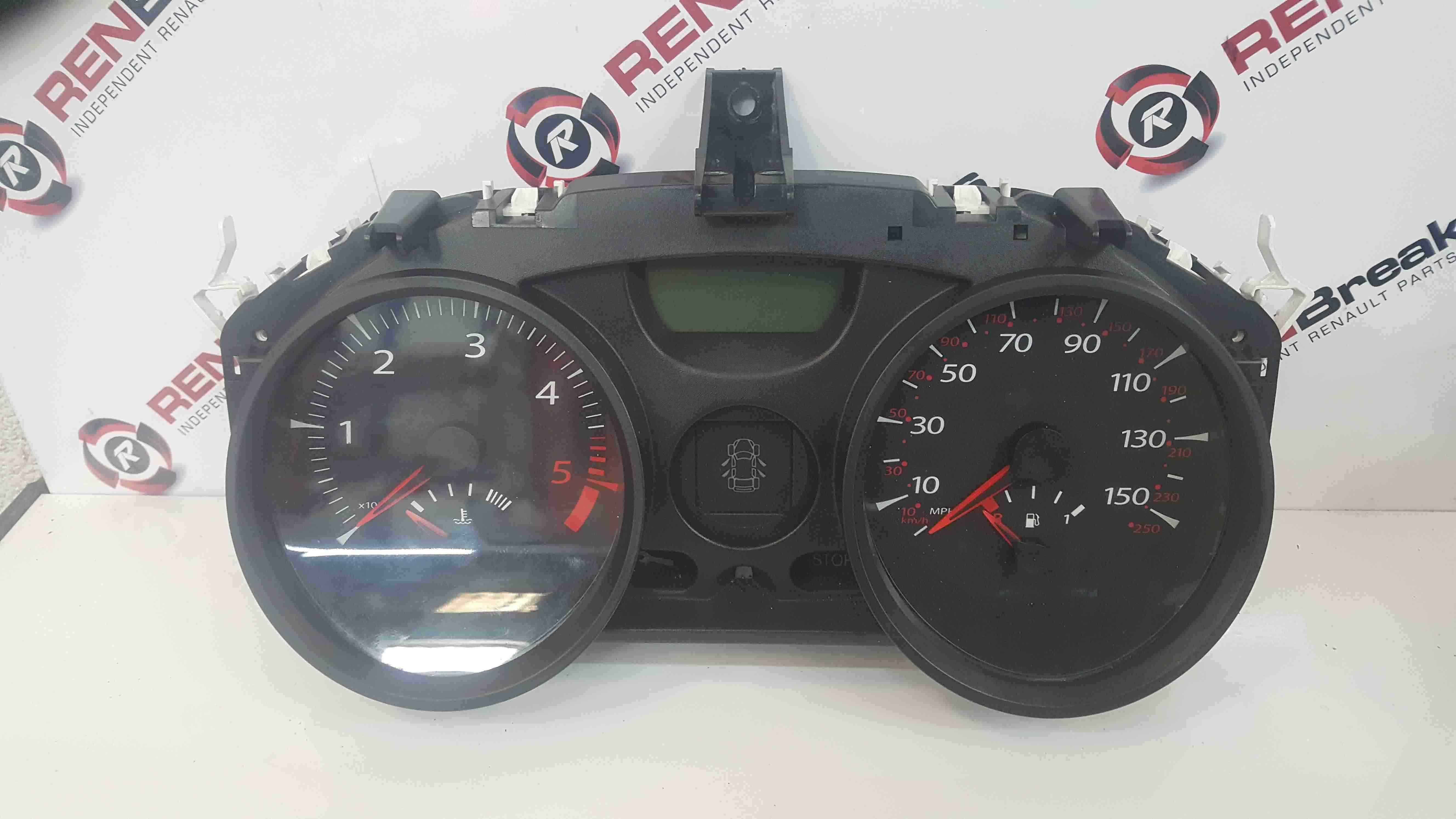 Renault Megane Convertible 2002-2008 Instrument Panel Dials Clocks 68k