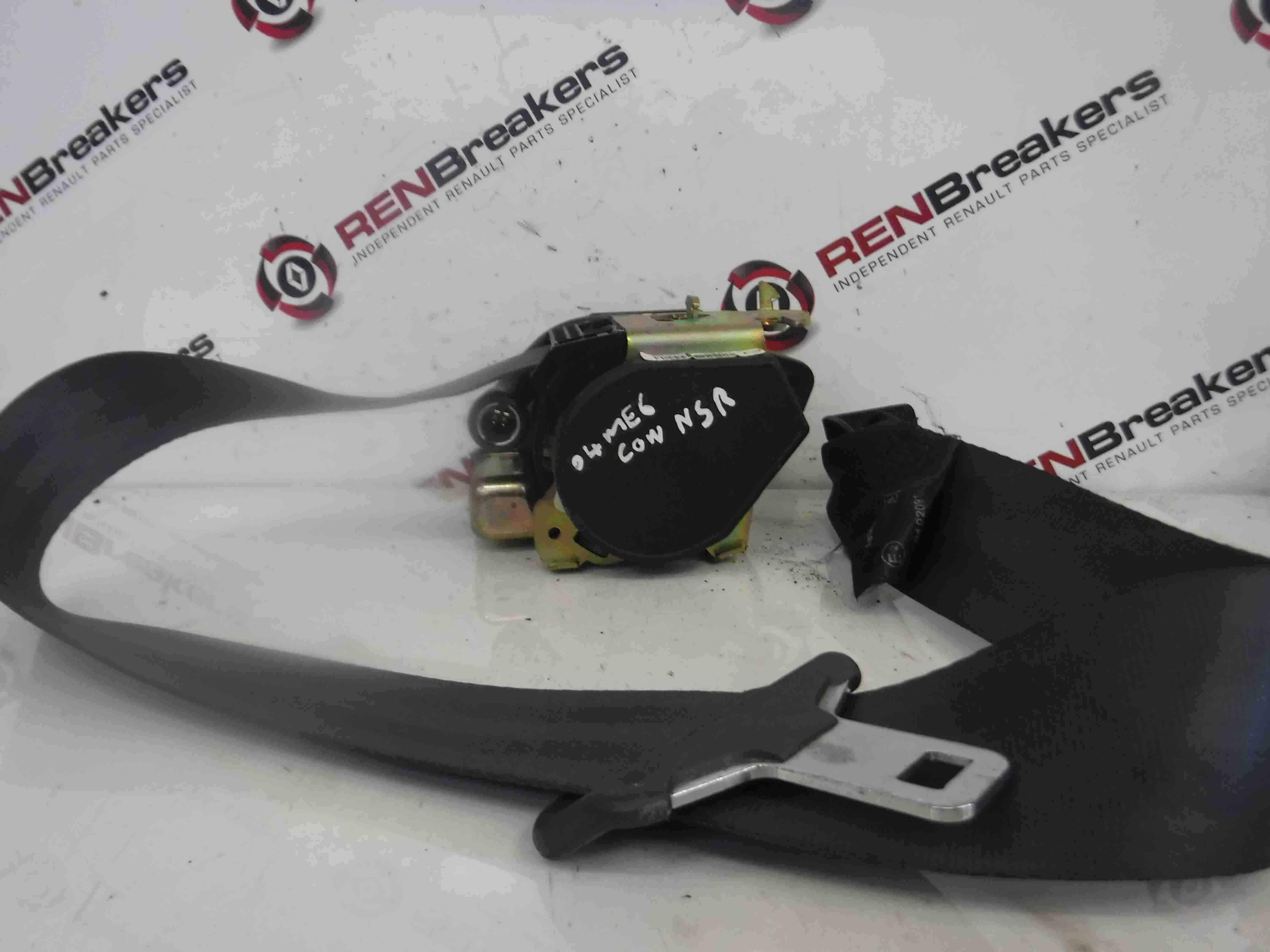 Renault Megane Convertible 2002-2008 Passenger NSR Rear Seat Belt