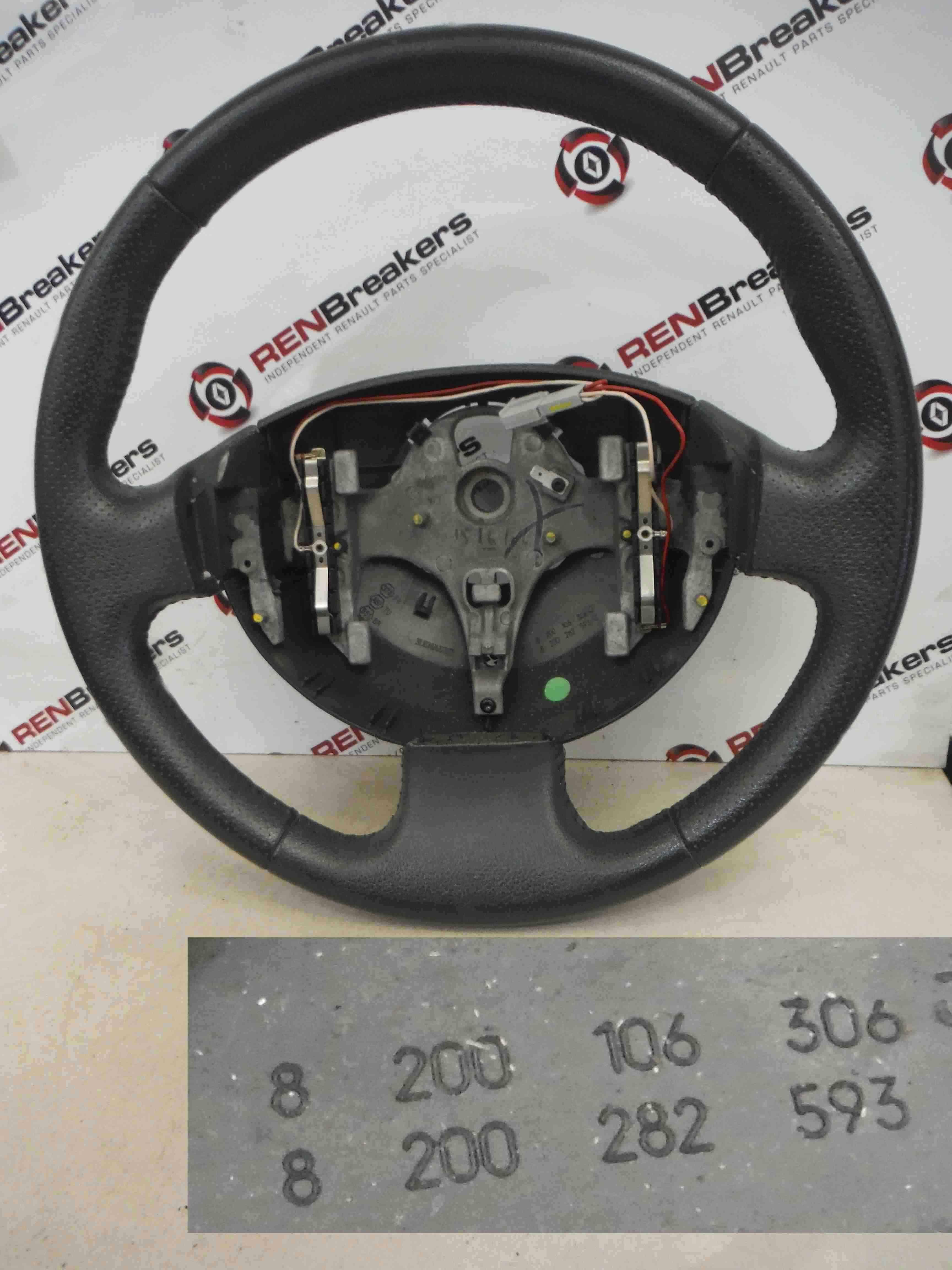 Renault Megane Convertible 2002-2008 Steering Wheel 8200106306 8200282593