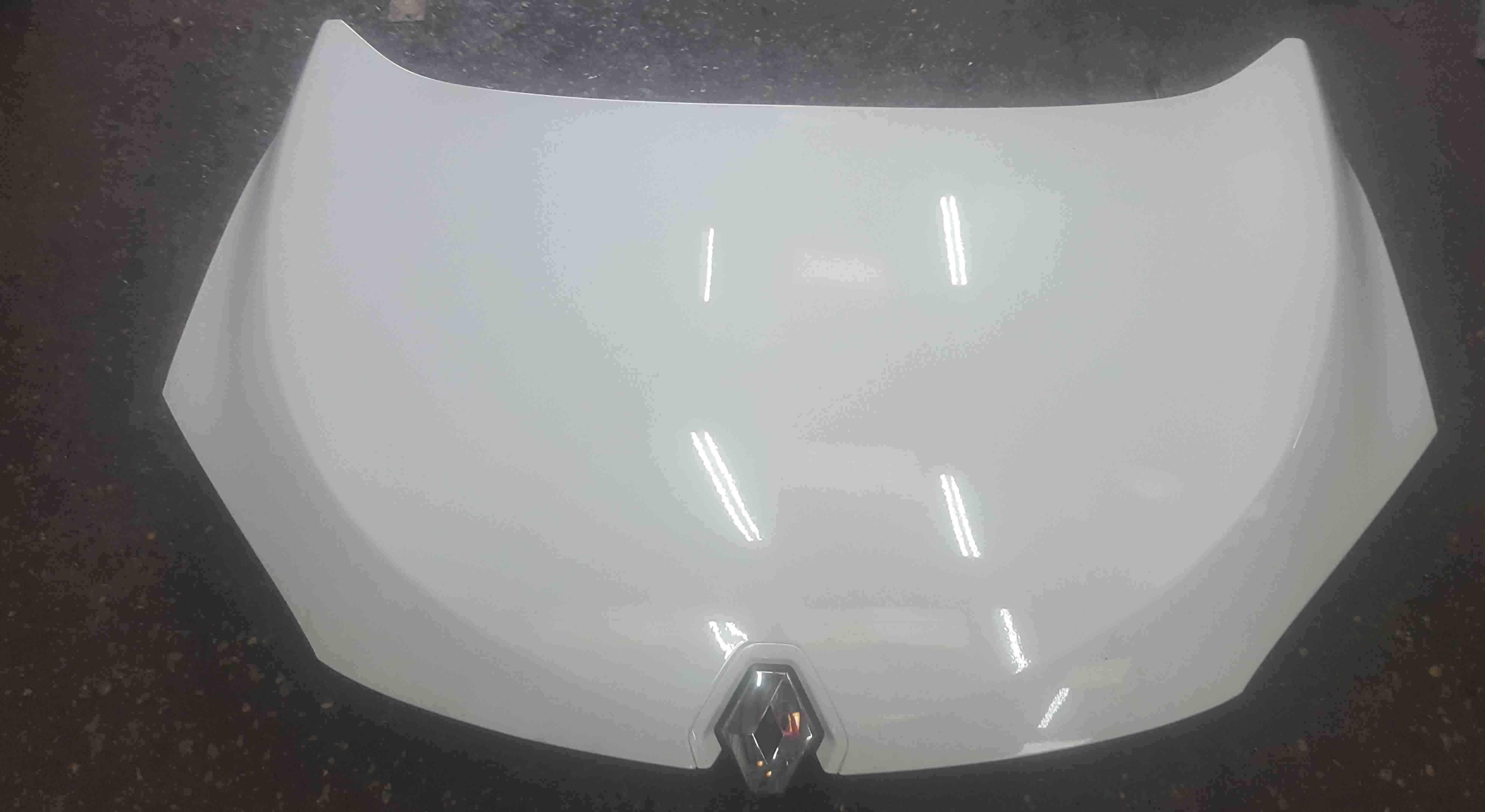 Renault Megane Coupe MK3 2008-2012 GT Front Bonnet White OV369
