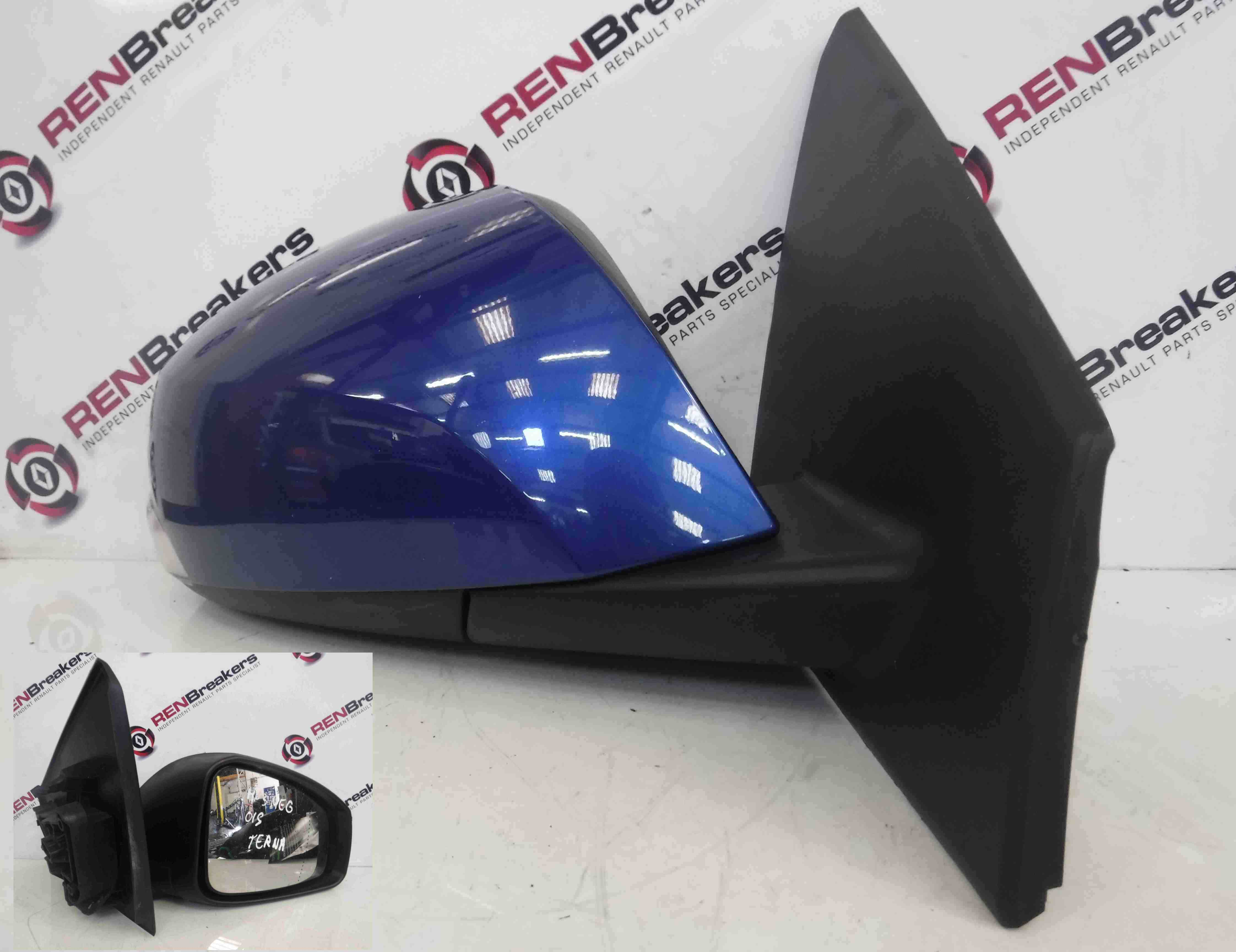 Renault Megane Coupe MK3 2008-2014 Drivers OS Wing Mirror Blue TERNA