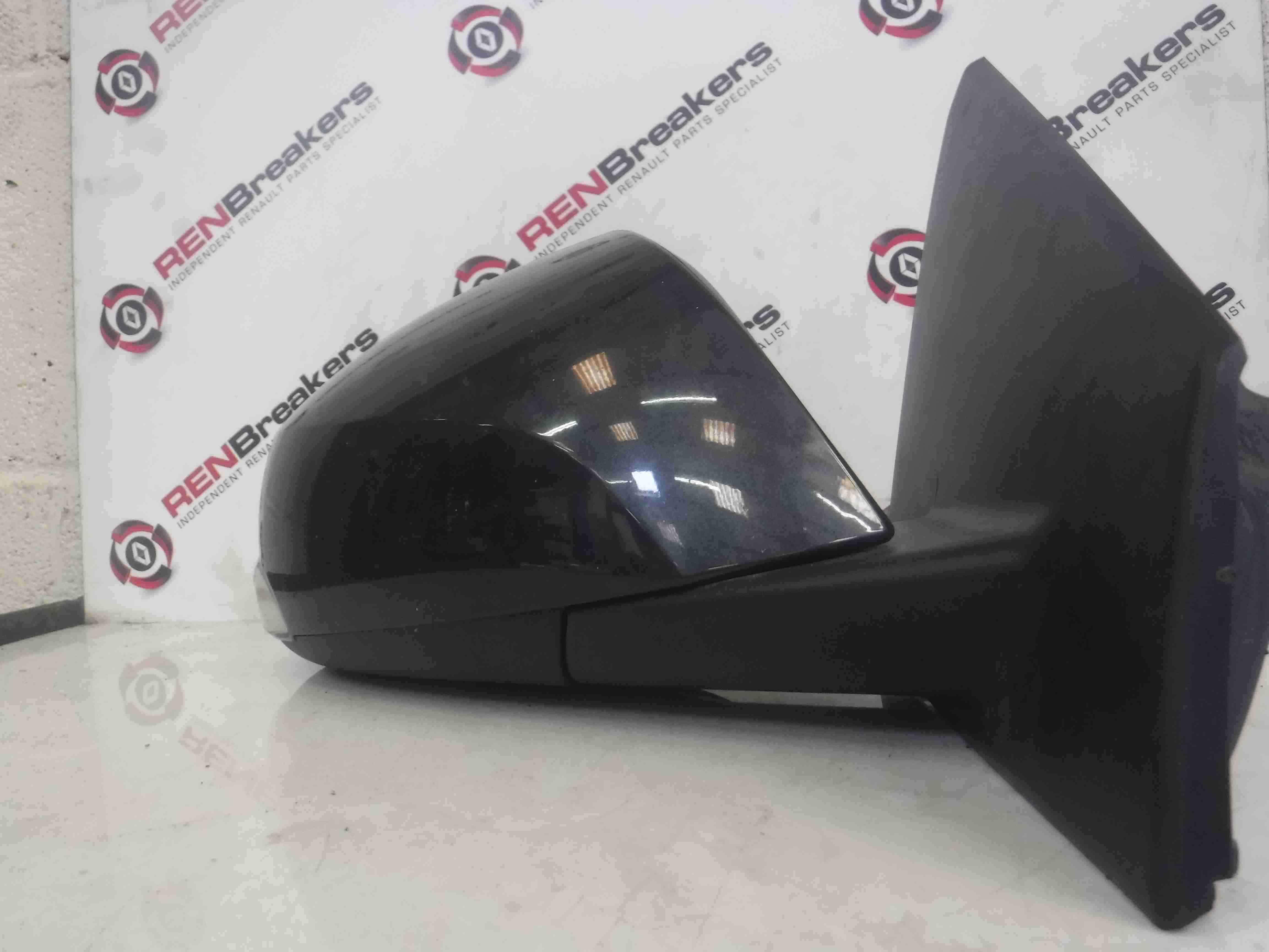 Renault Megane Coupe MK3 2008-2014 Drivers OS Wing Mirror Grey TEB66