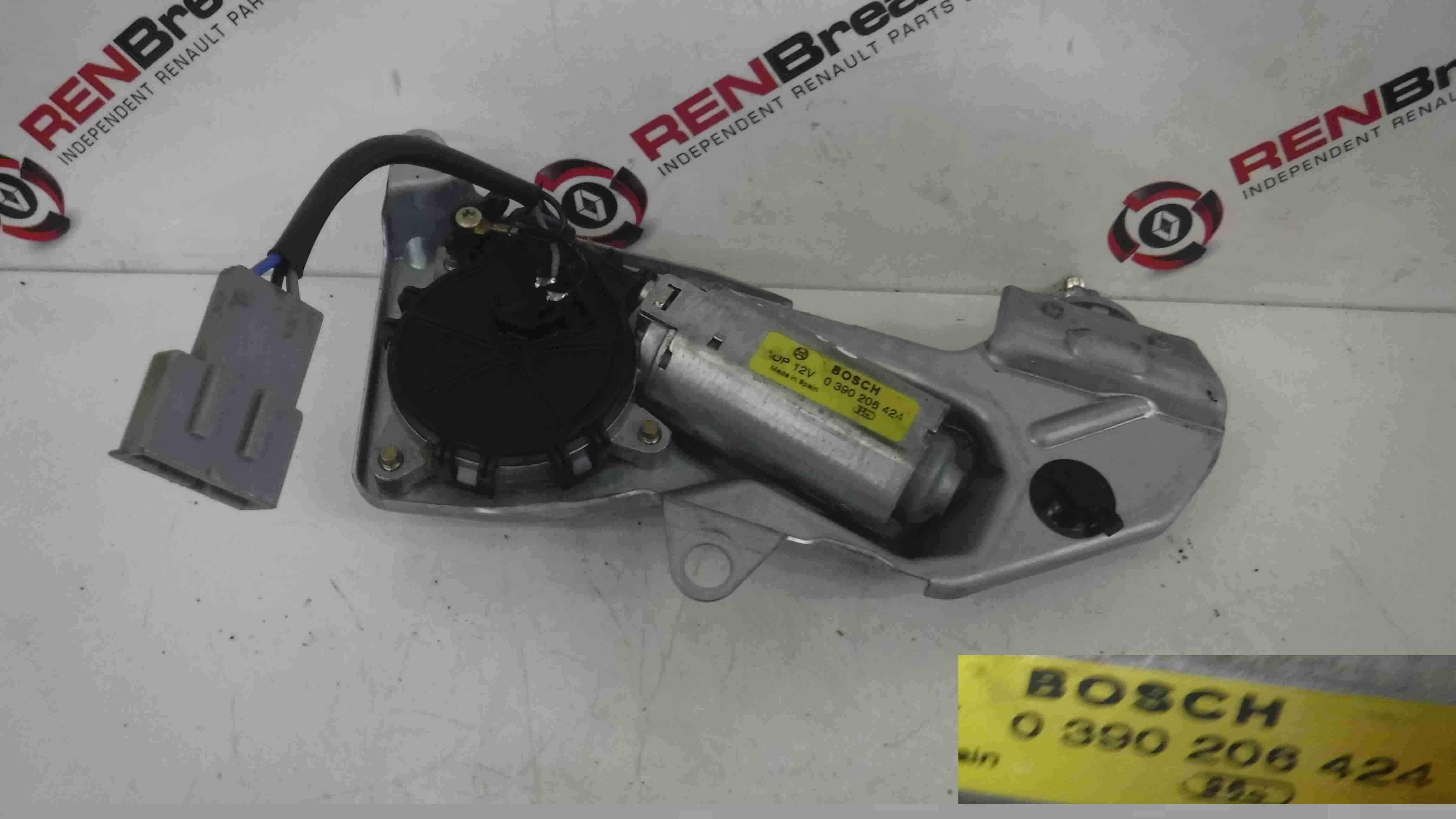 Renault Megane MK1 Hatchback 1999-2002 Rear Wiper Motor 0390206424